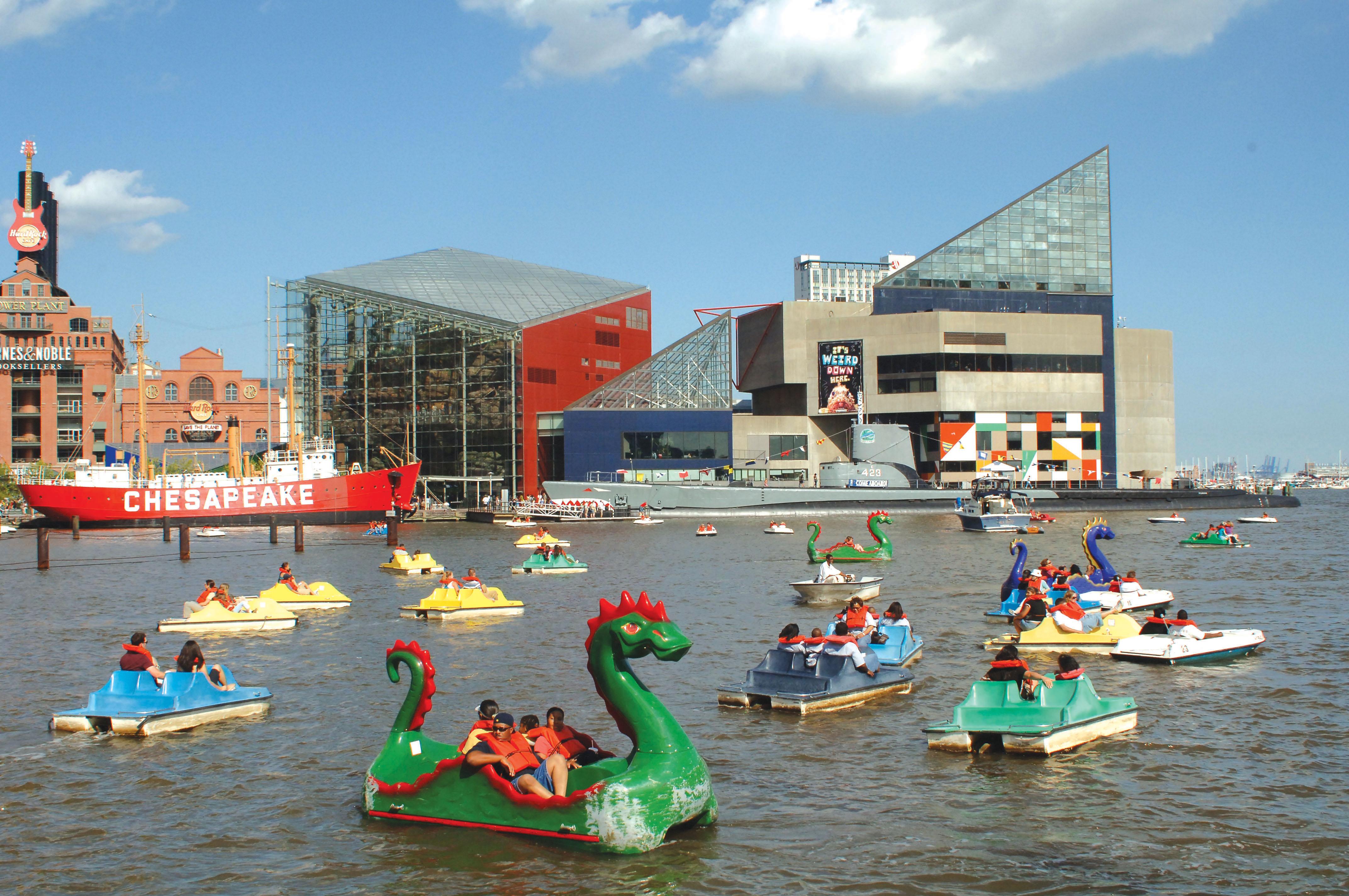 Photo Aquarium Baltimore Md Structure Sea Urban