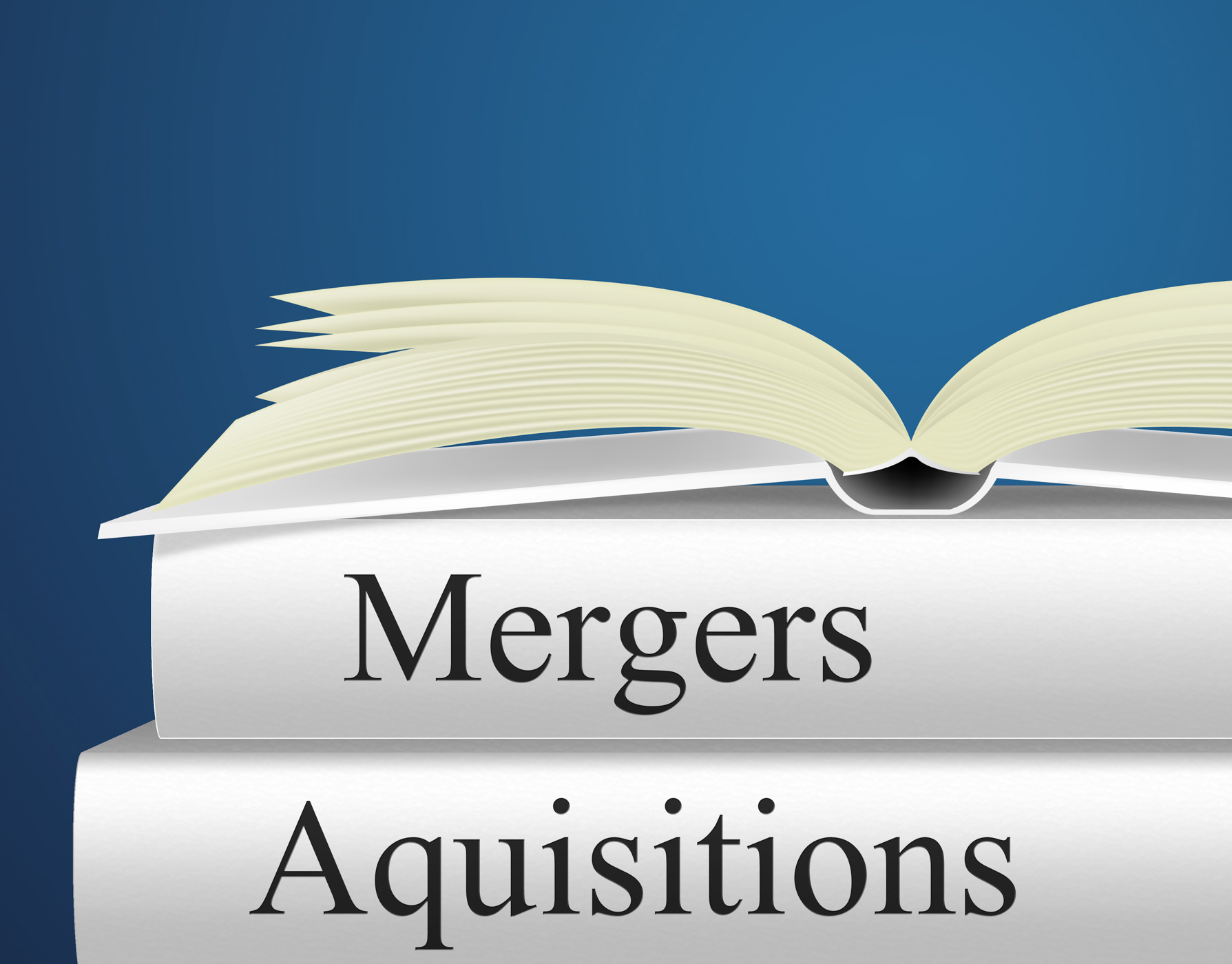 Aquisitions mergers represents link up and alliance photo