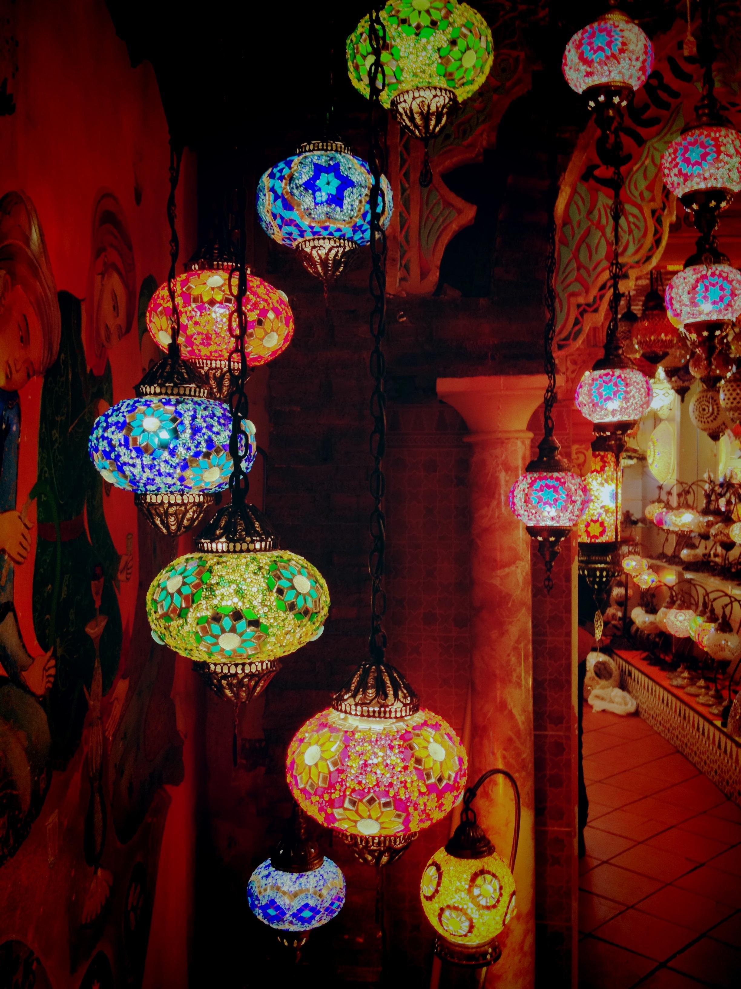 Arabic lamps photo