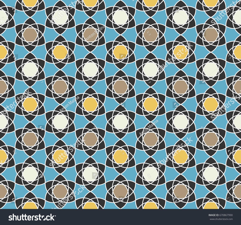 Free Photo Arabic Mosaic Ornamental Ornate Part