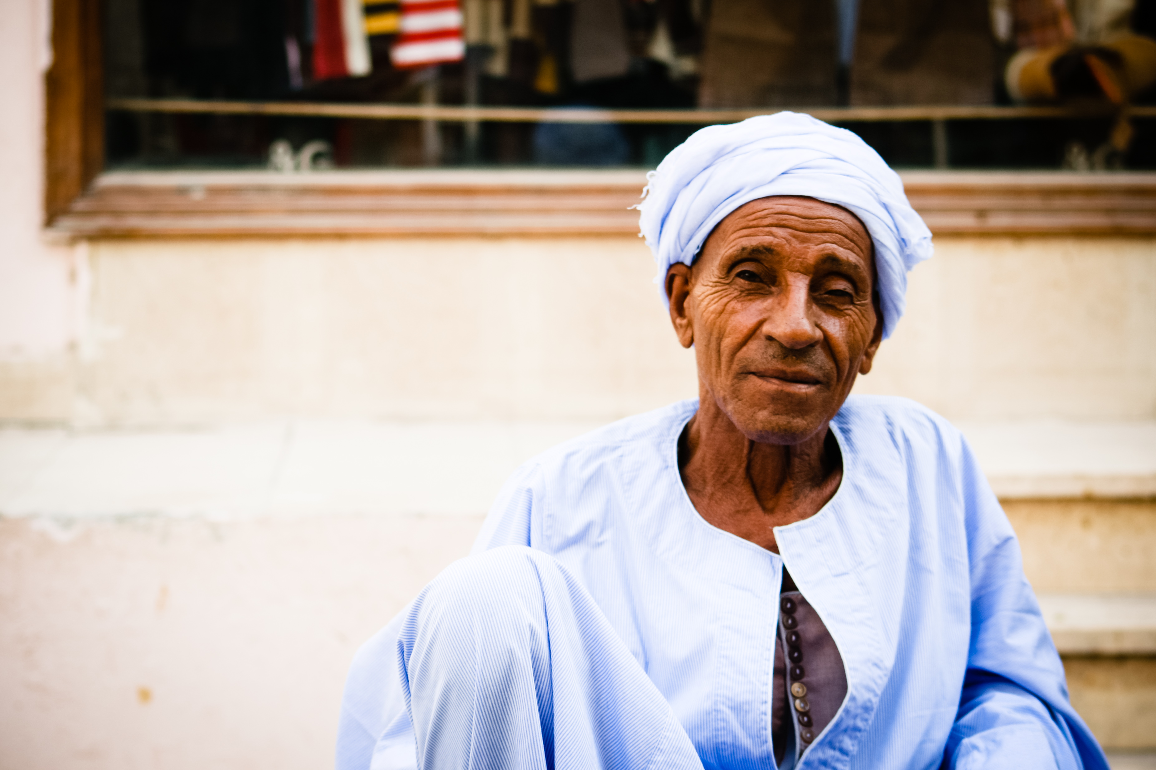 Arabic old man, Age, Morocco, Sitting, Scarf, HQ Photo
