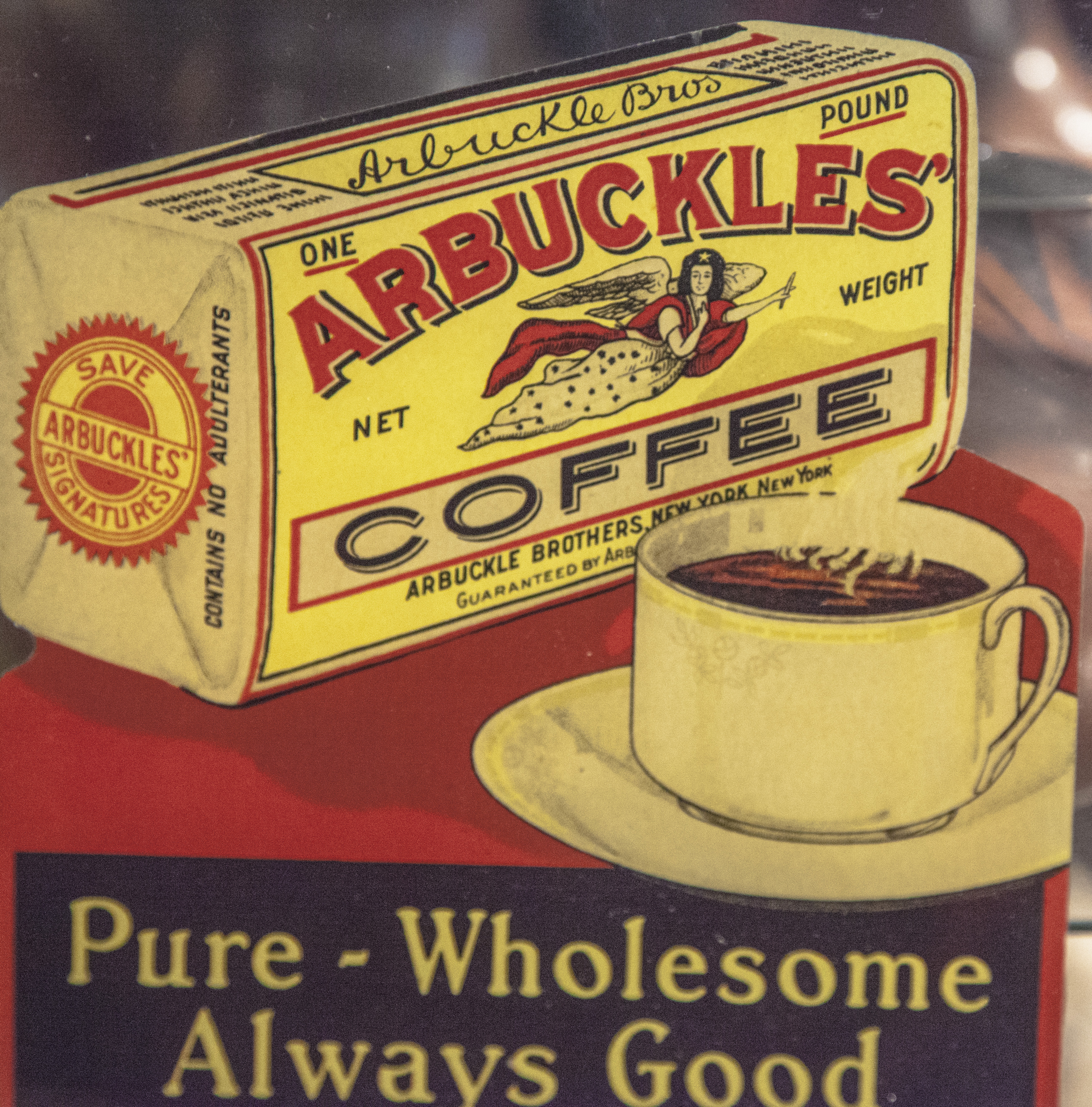"Anyone Remember ""Arbuckles' Coffee""? 