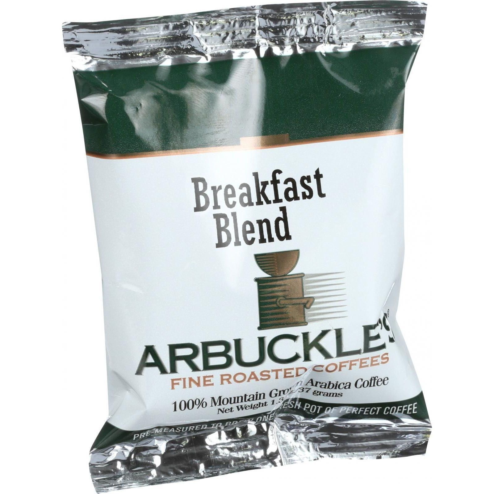 Arbuckles' Coffee - Breakfast Blend - 1.3 Oz - Case Of 10 | Products ...