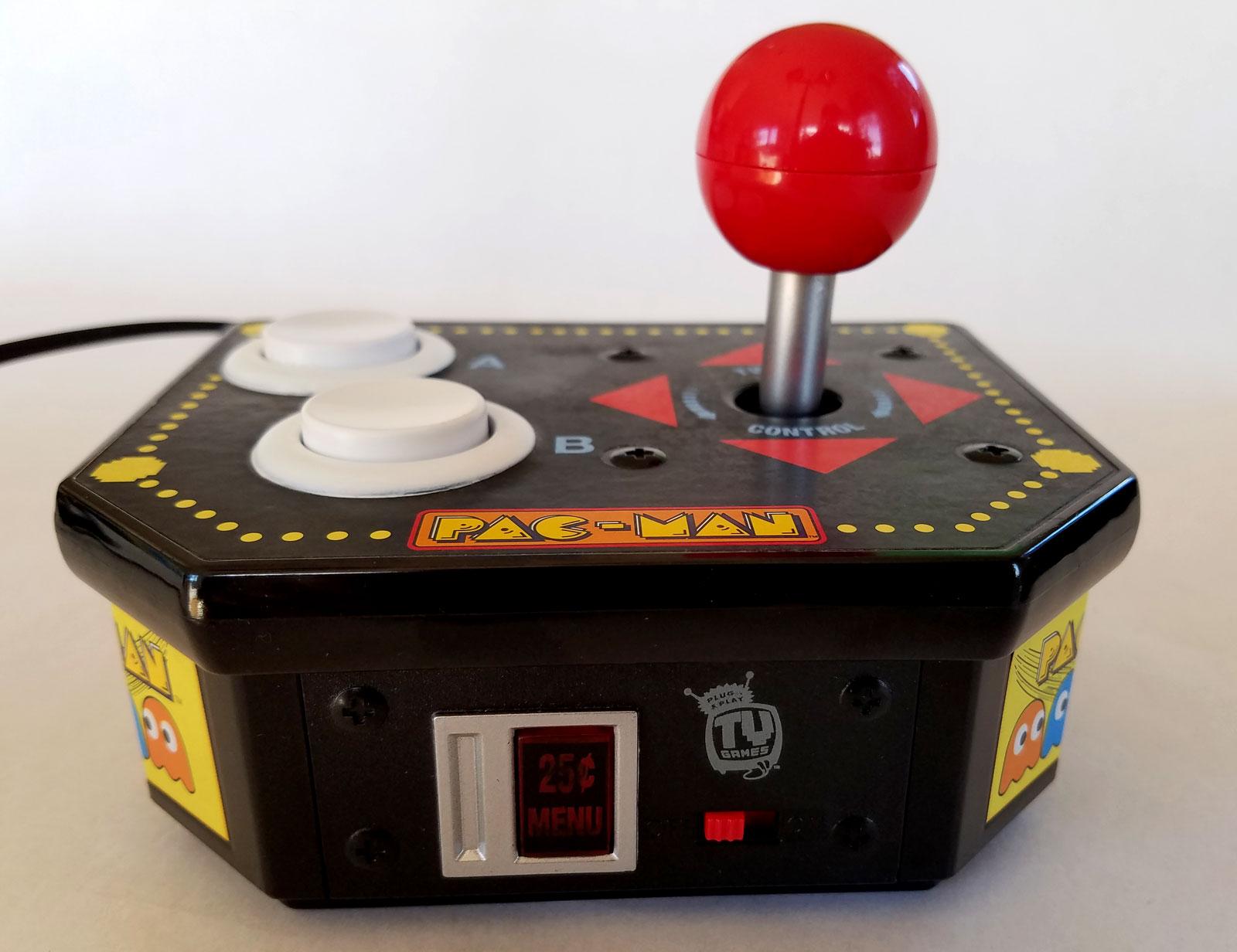 Arcade game joystick photo