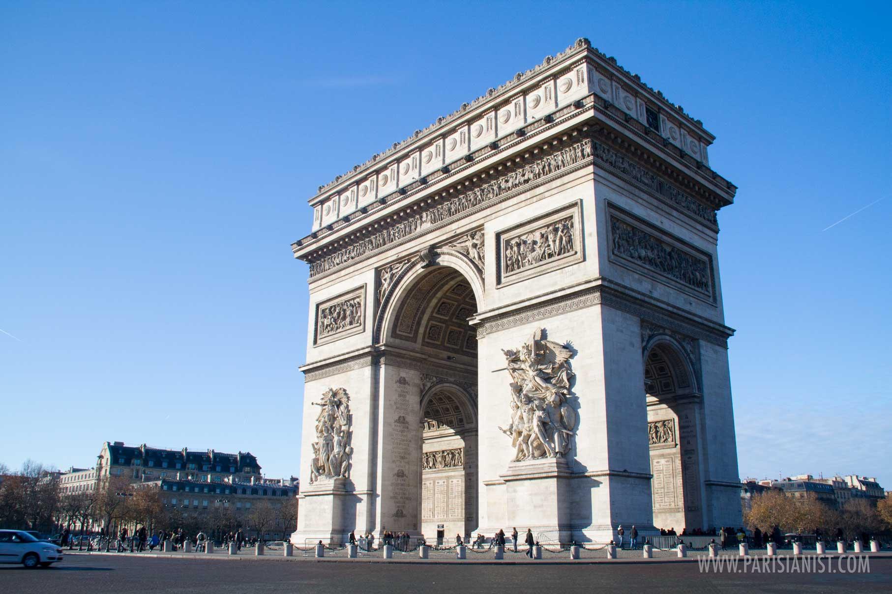 Arc de Triomphe | Paris Monuments | Parisianist City Guide