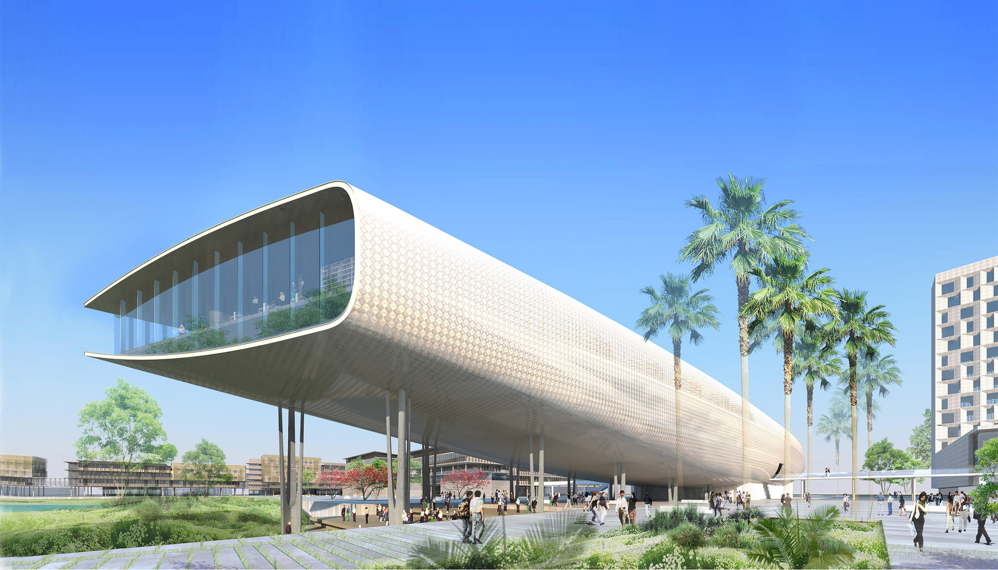 As.Architecture-Studio and VHA Architects Unveil Green University ...