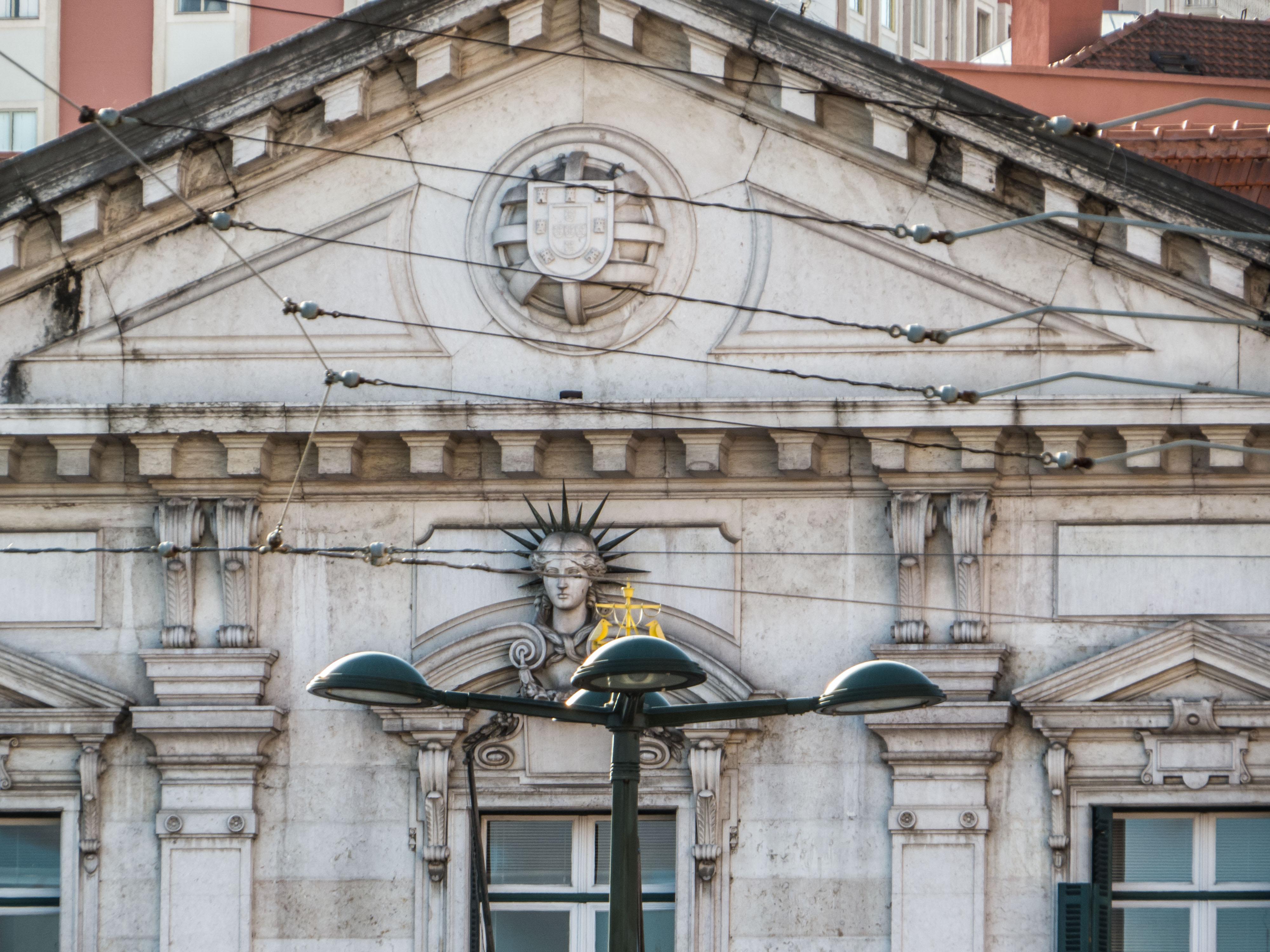 Architecture of lisbon photo