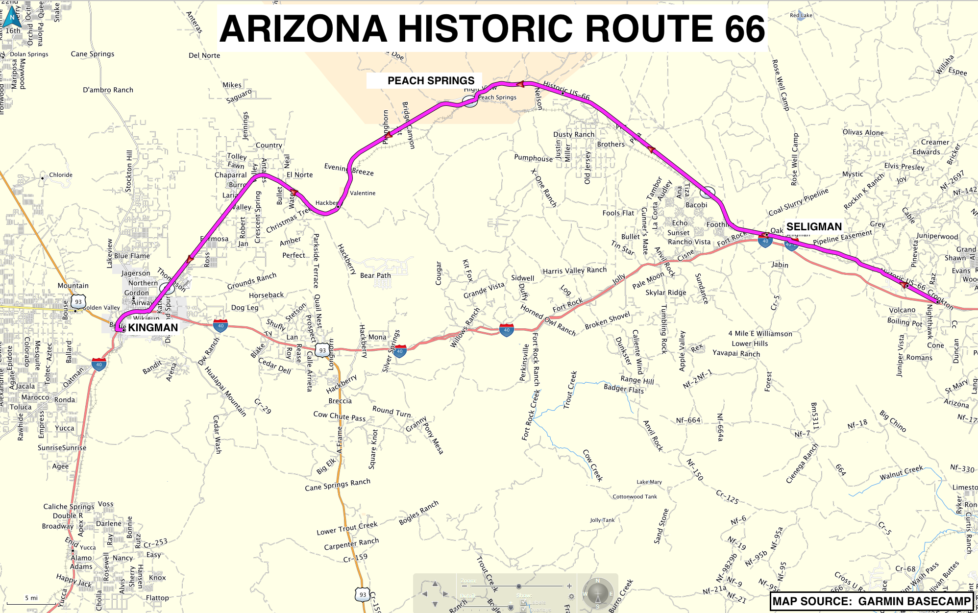 RoadRUNNER's Bucket List Roads: Historic Route 66 in Arizona ...