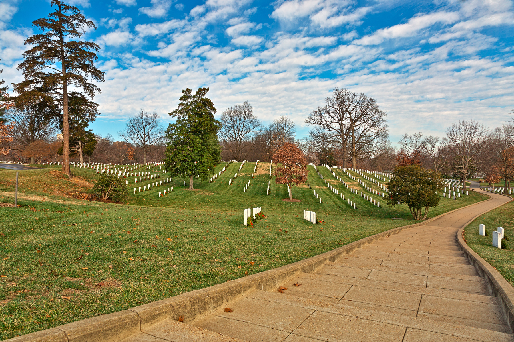Arlington national cemetery - hdr photo