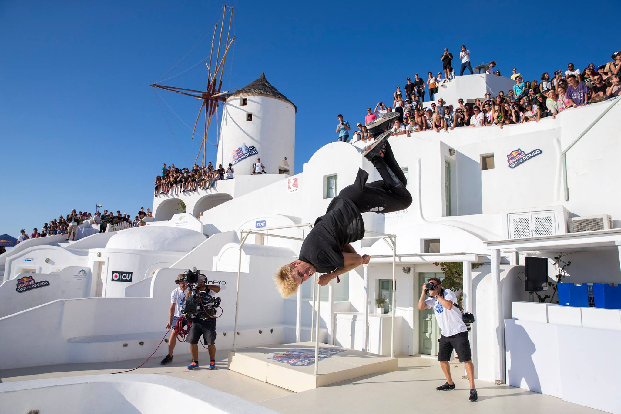 Red Bull Art of Motion Freerunning Competition Coming to Oia