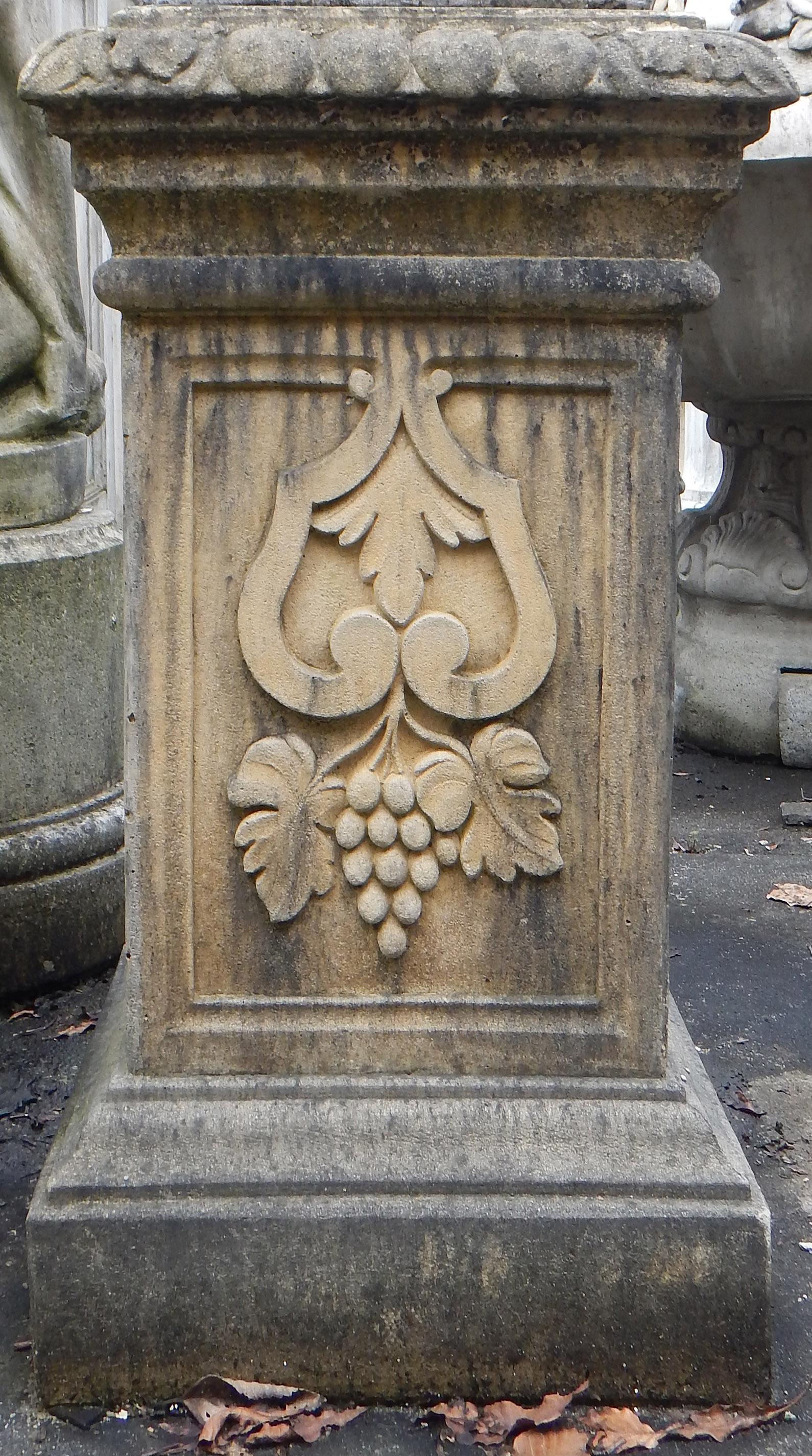 Art pillar texture photo