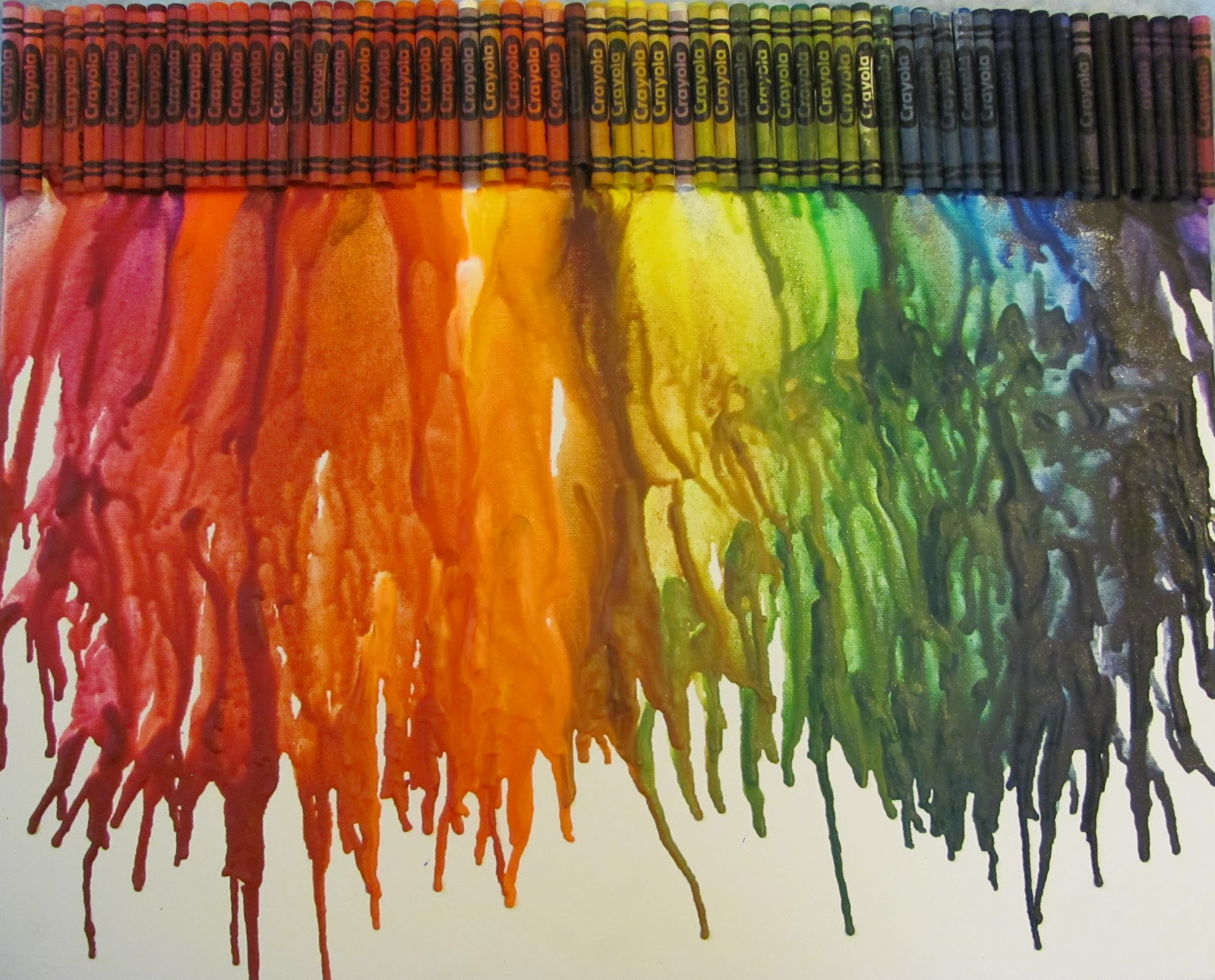Squirrel in the Garden: How to Use Up Old Art Supplies: Crayons