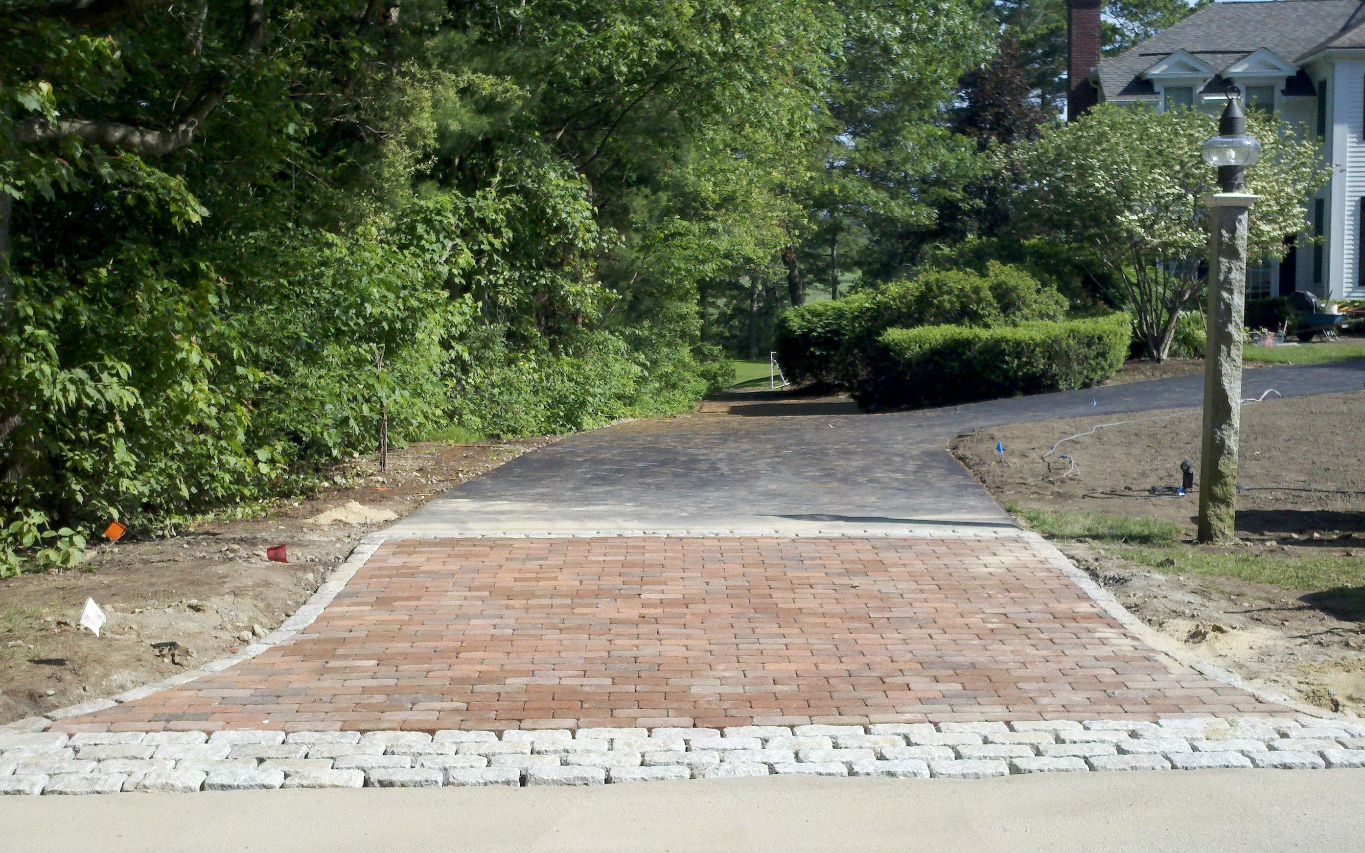 This is a Driveway Apron we built with Cobblestone & Brick. Aprons ...