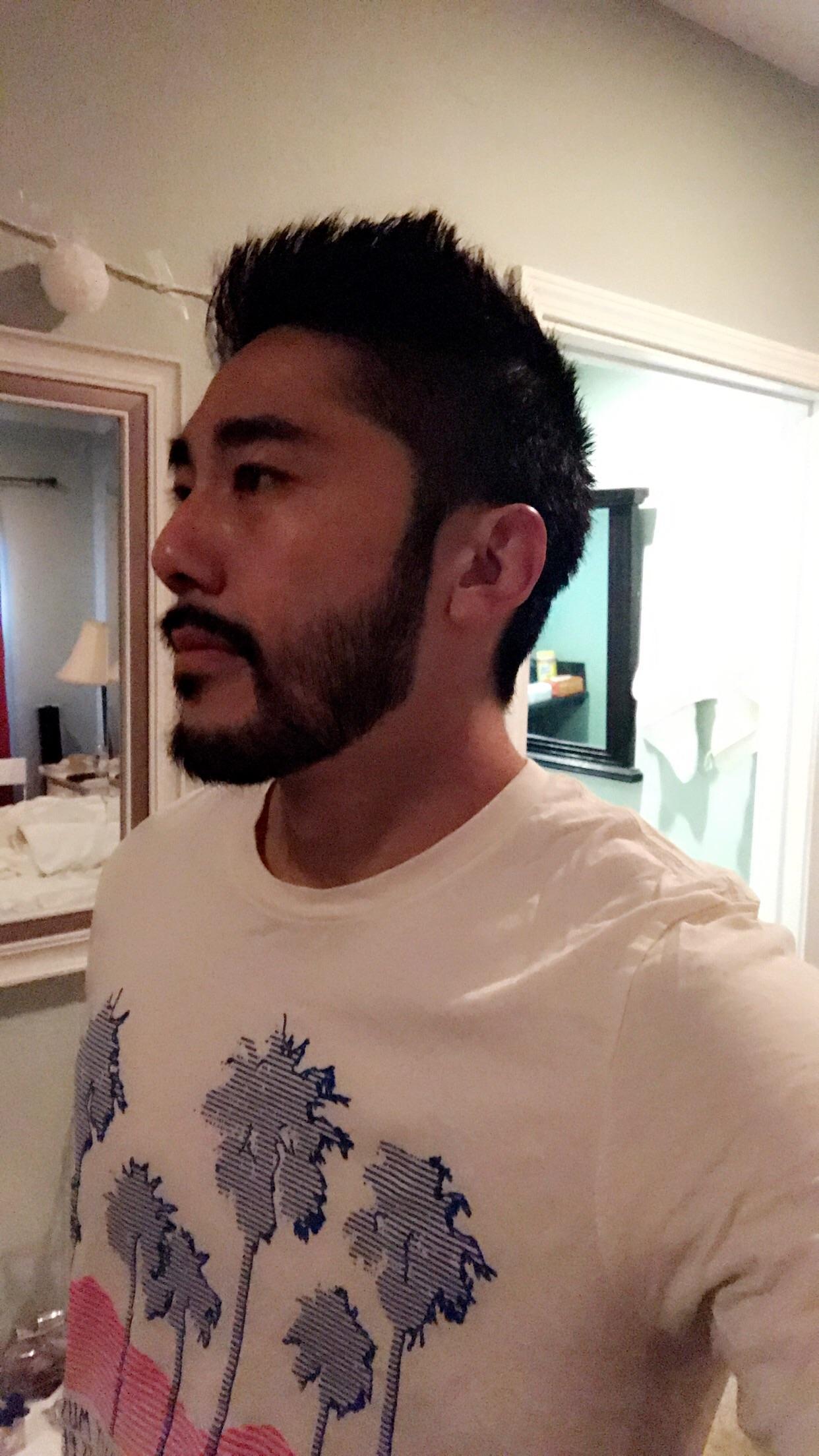 Asian dude with a beard : beards