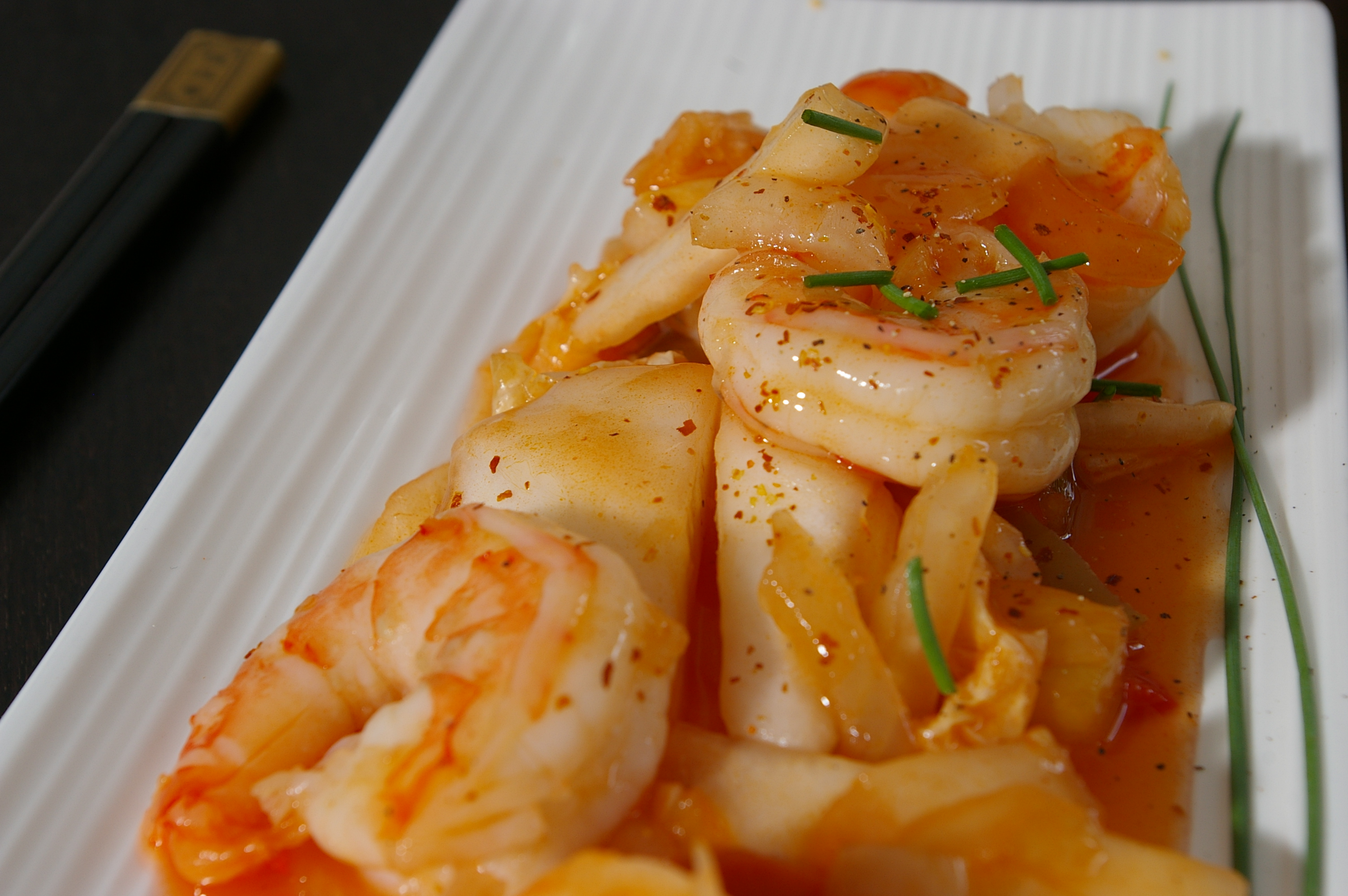 Asian shrimp recipe photo