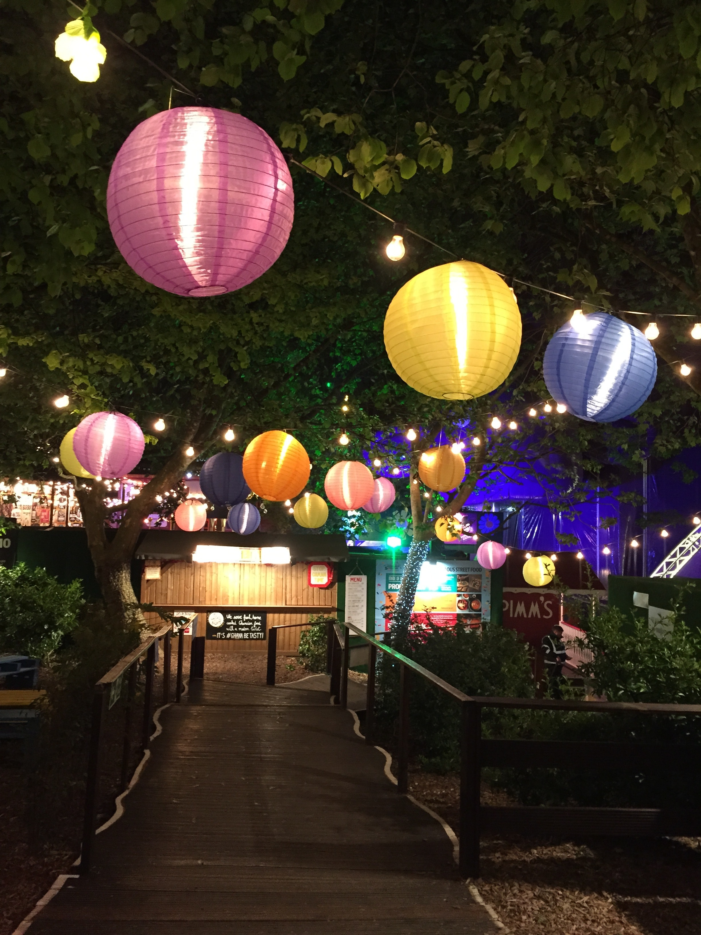 Assorted Hanging Paper Lamps, Paper lanterns, Park, Outdoors, Nature, HQ Photo