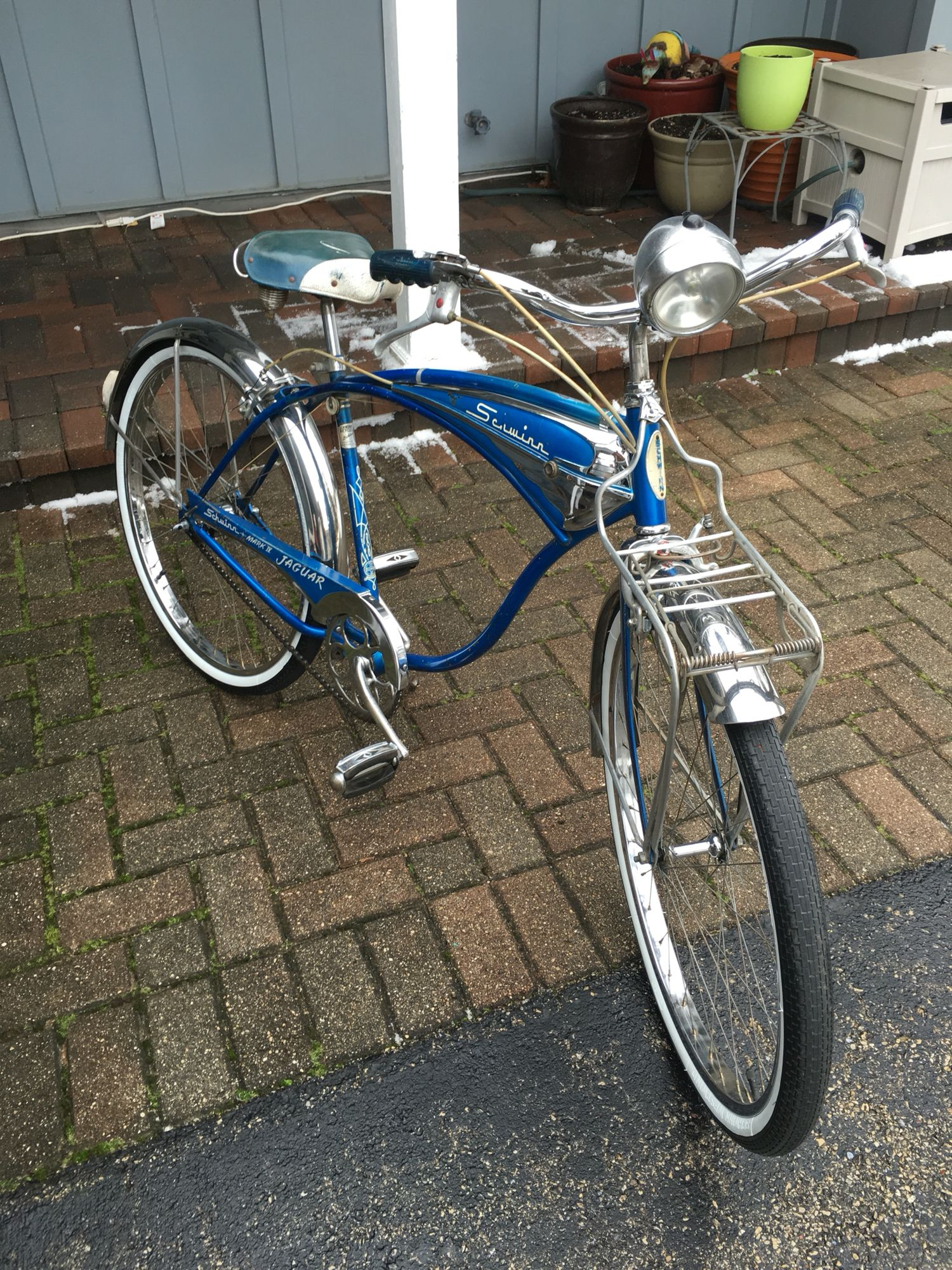 My 1960 Schwinn Jaguar 3 speed. | Schwinn vintage bikes | Pinterest ...