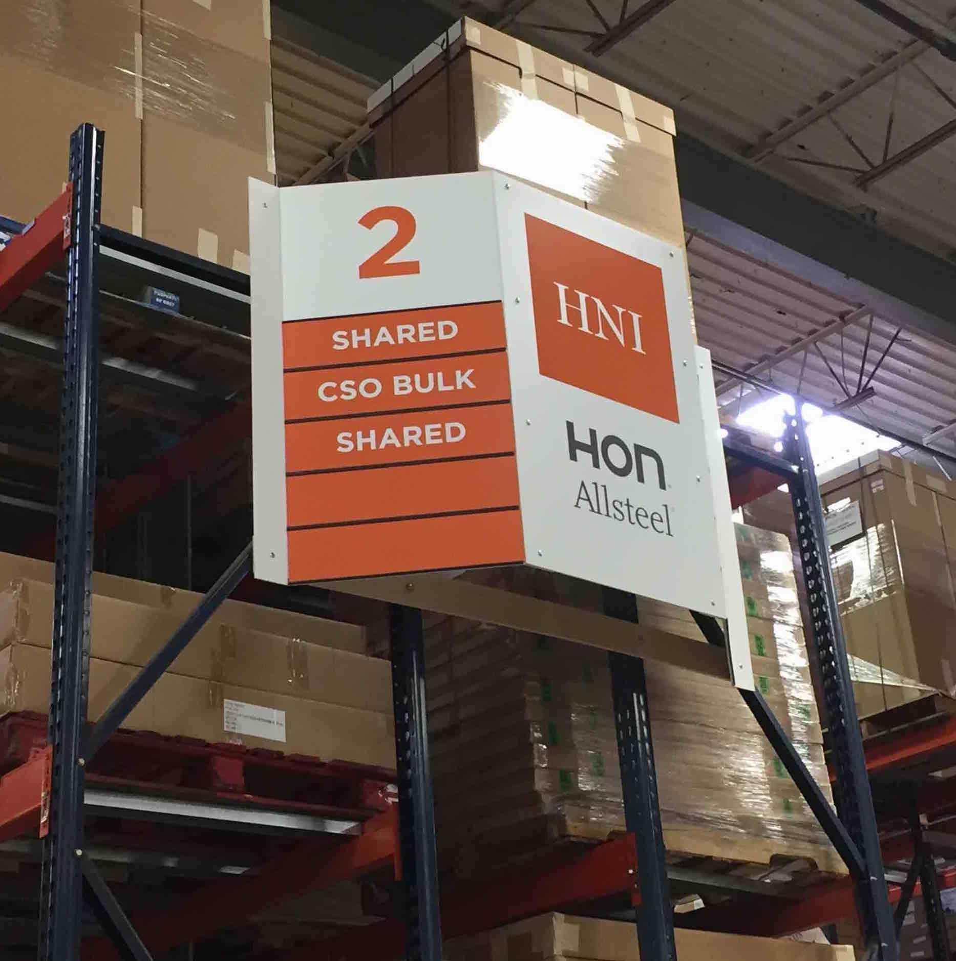 Hanging Retail Aisle Signage | Grocery Store Aisle Signs