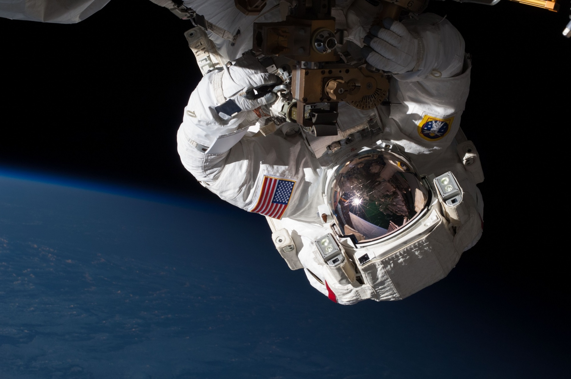 Astronaut Spacewalk Free Stock Photo - Public Domain Pictures