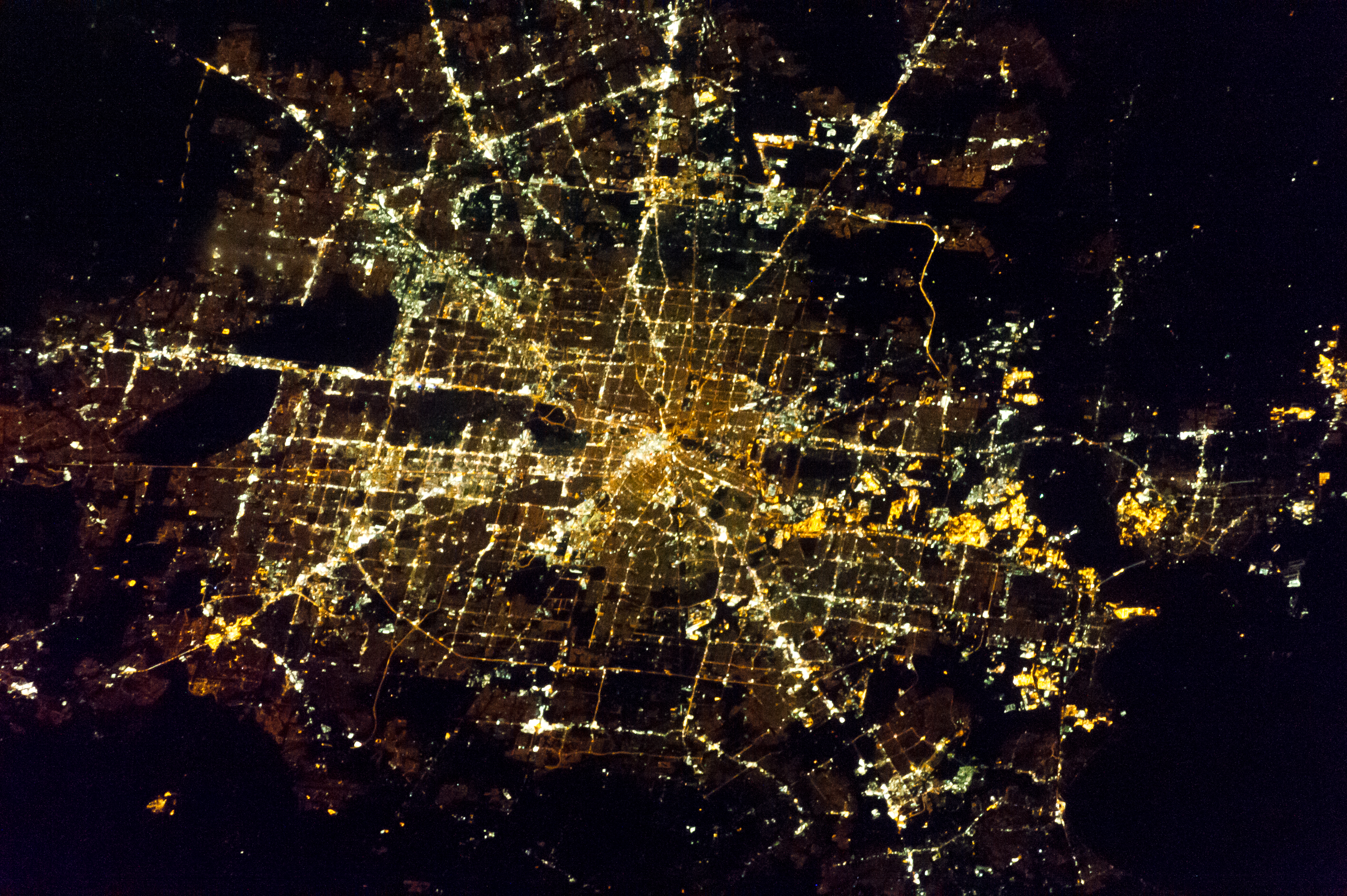 ... Houston At Night : Image Of The Day