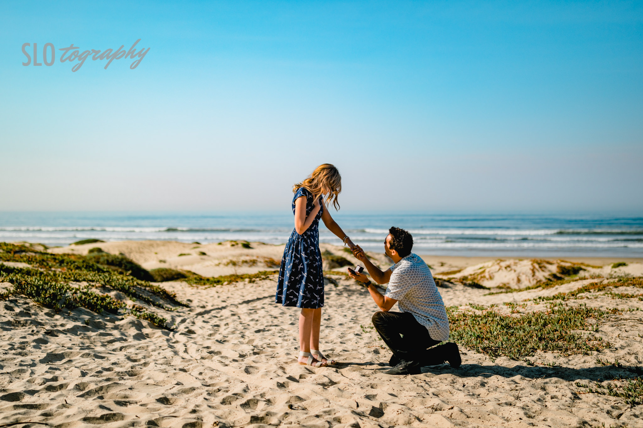 Pismo Beach Proposal ~ Olivia+Michael! With a flyby at the Oceano ...