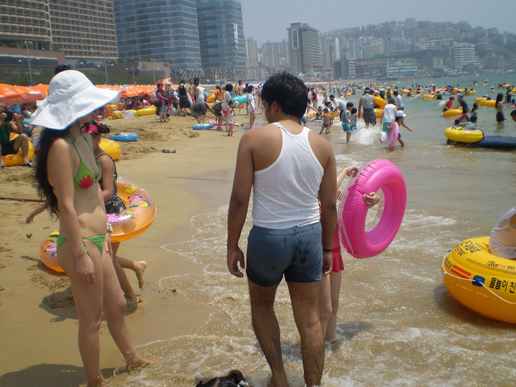 At the Beach, Beach, Blue, Boys, Children, HQ Photo