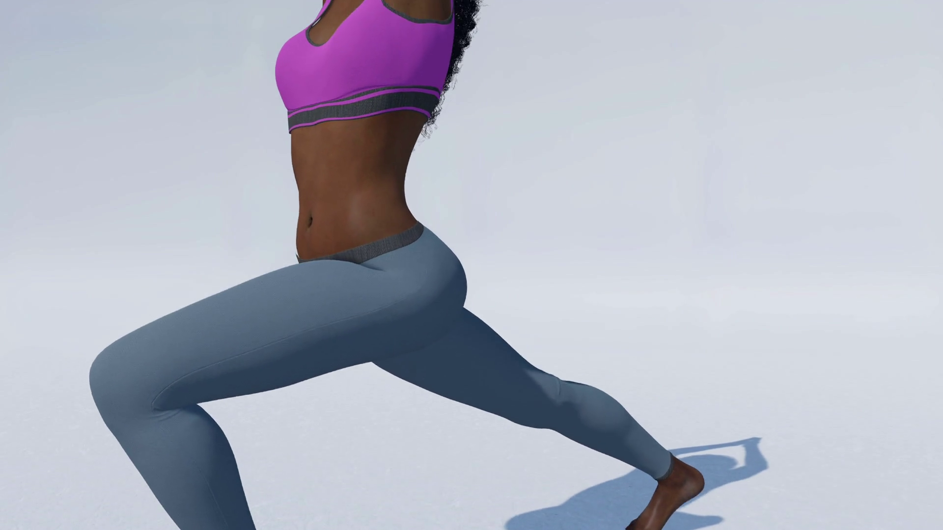 Young attractive african american athletic woman practicing yoga ...