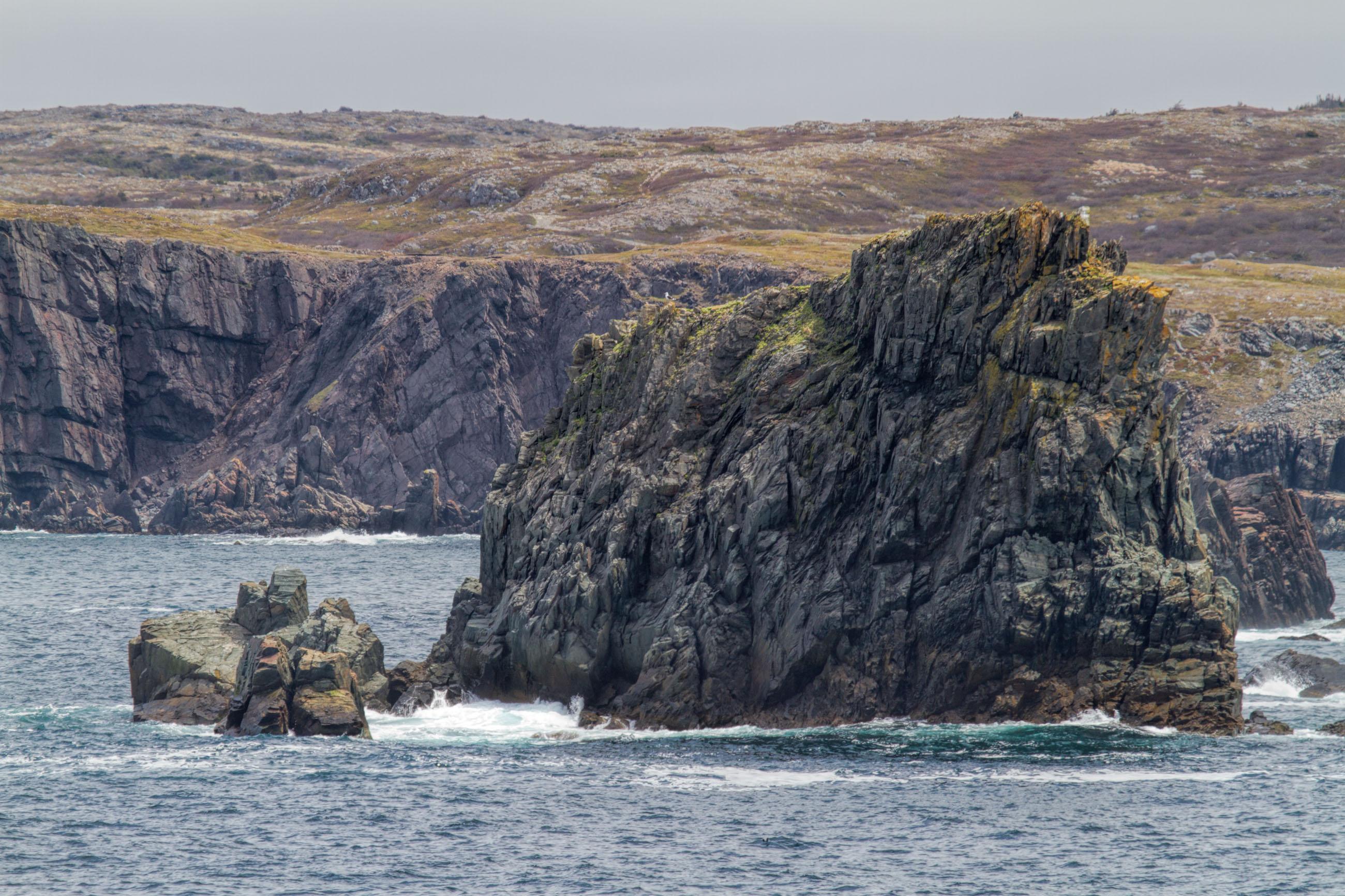 Atlantic Canada Coastline, Rocky, Rough, Scenery, Scenic, HQ Photo