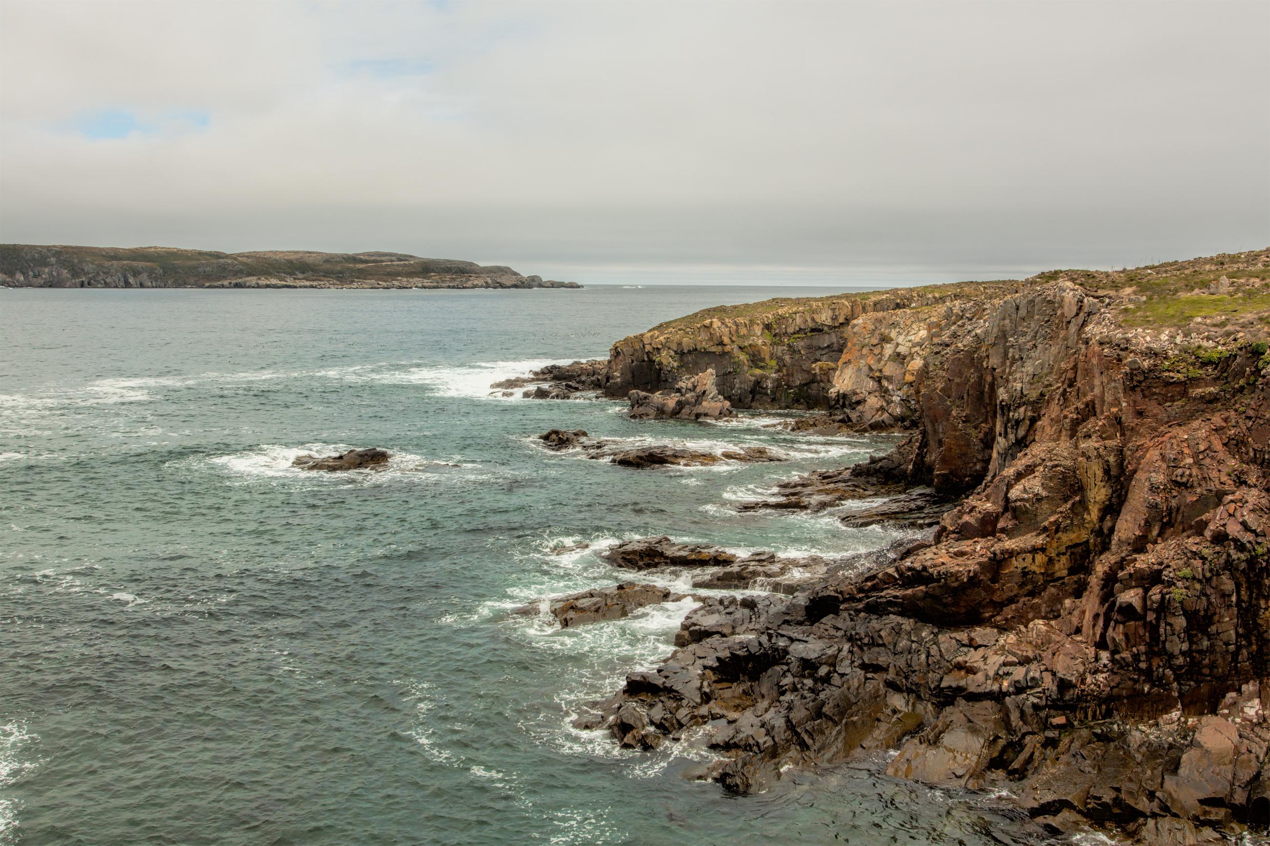 Atlantic canada coastline photo