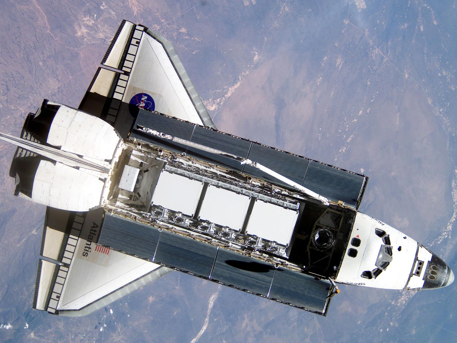 Space is the final and last frontier for shuttle Atlantis |
