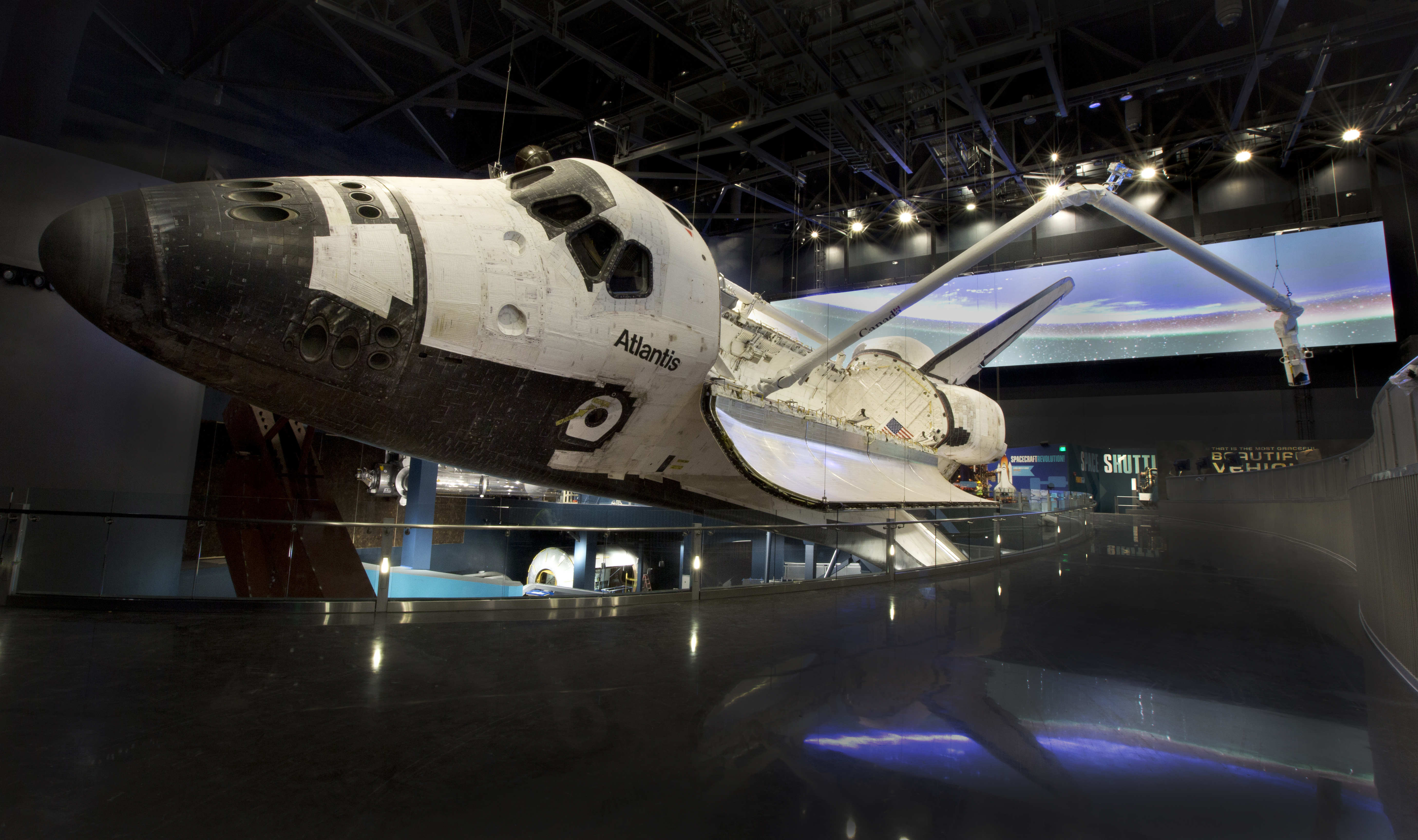 Attention Span Media - Project - Space Shuttle Atlantis