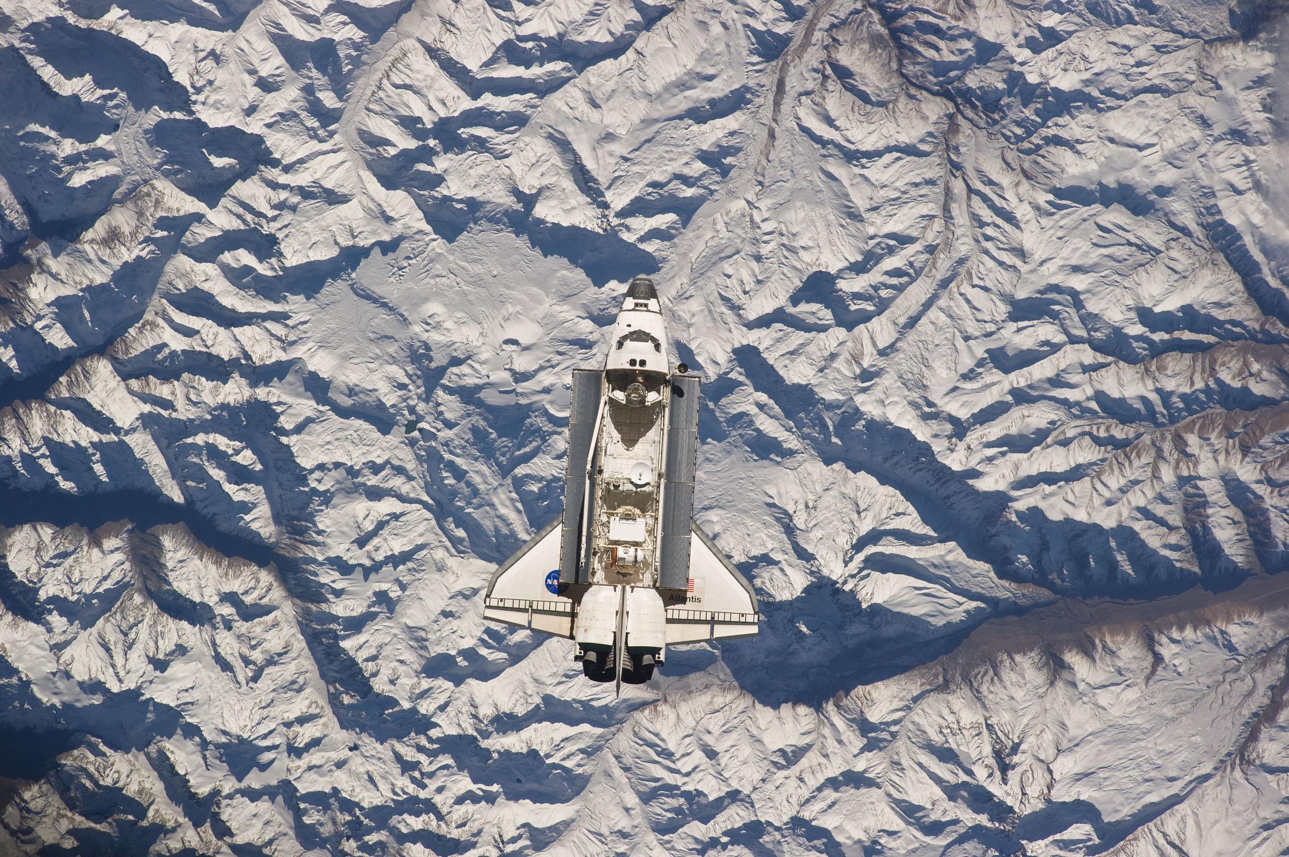 Atlantis space shuttle photo