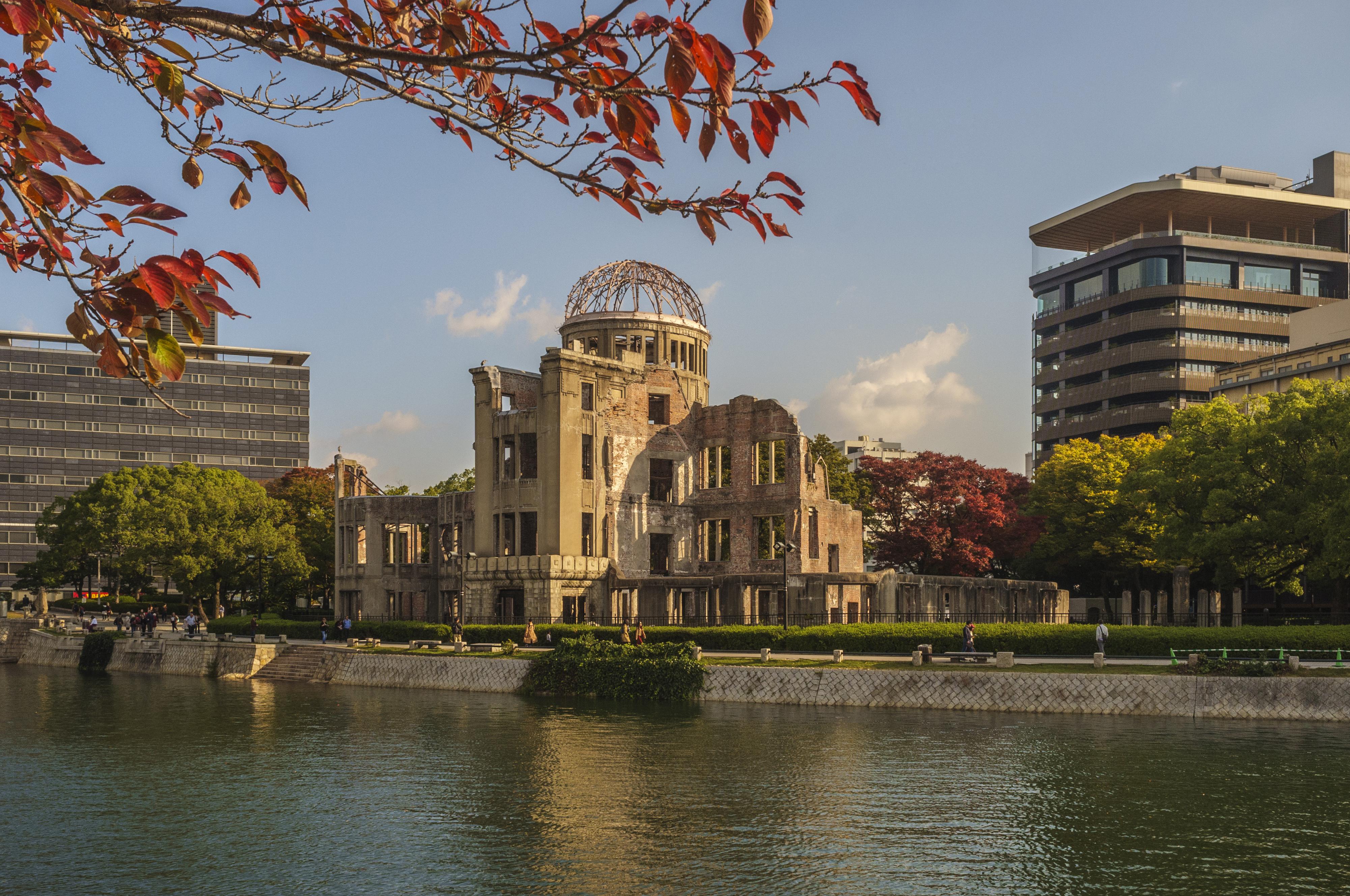 Atomic Bomb Dome, Building, CC0, City, Grass, HQ Photo