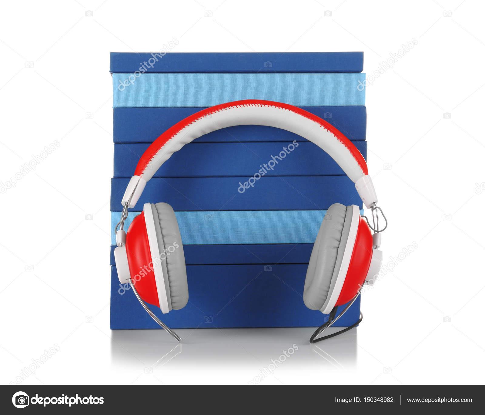 Audiobook concept view — Stock Photo © belchonock #150348982