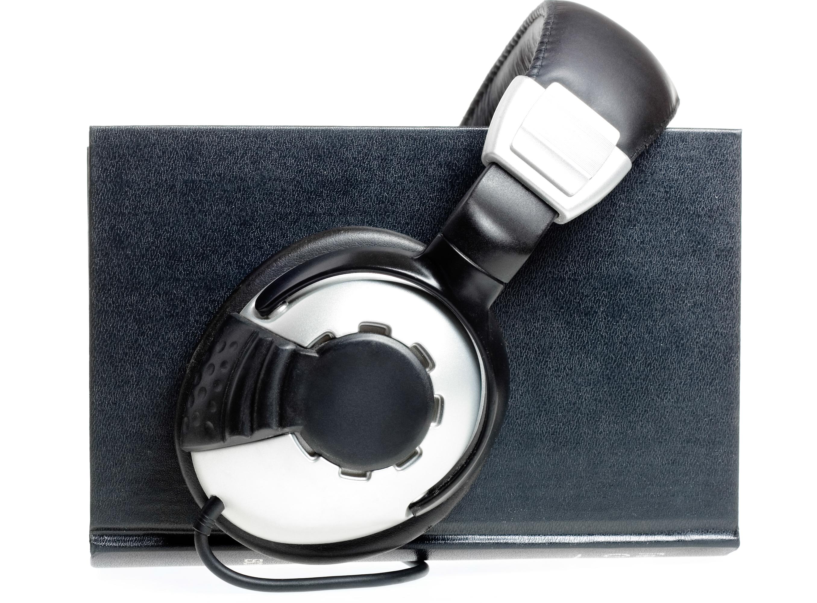 Audio book concept, Audio, Speaker, Pile, Play, HQ Photo