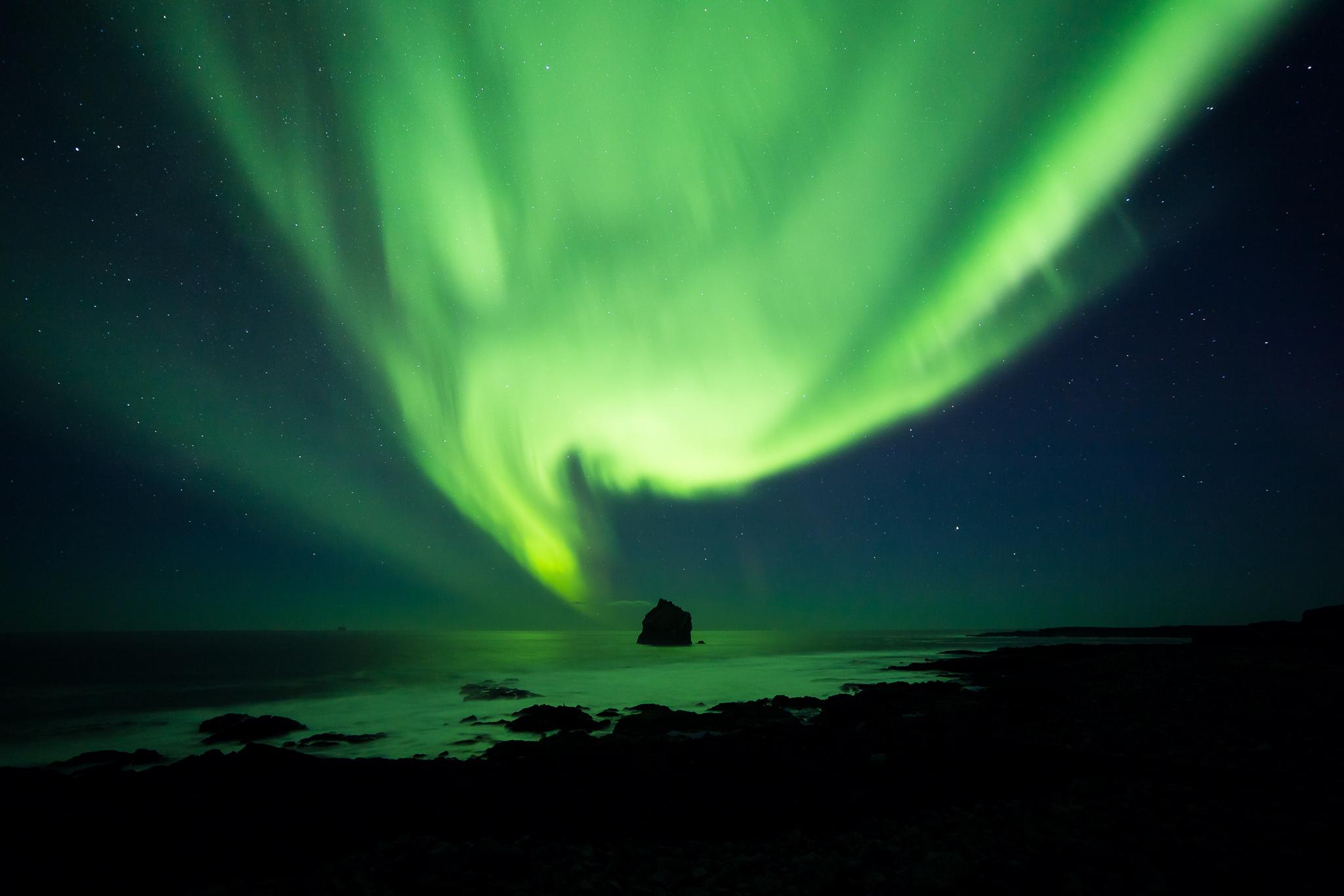 Reykjanesviti Aurora (Digital) - Marketplace - JVN Photography