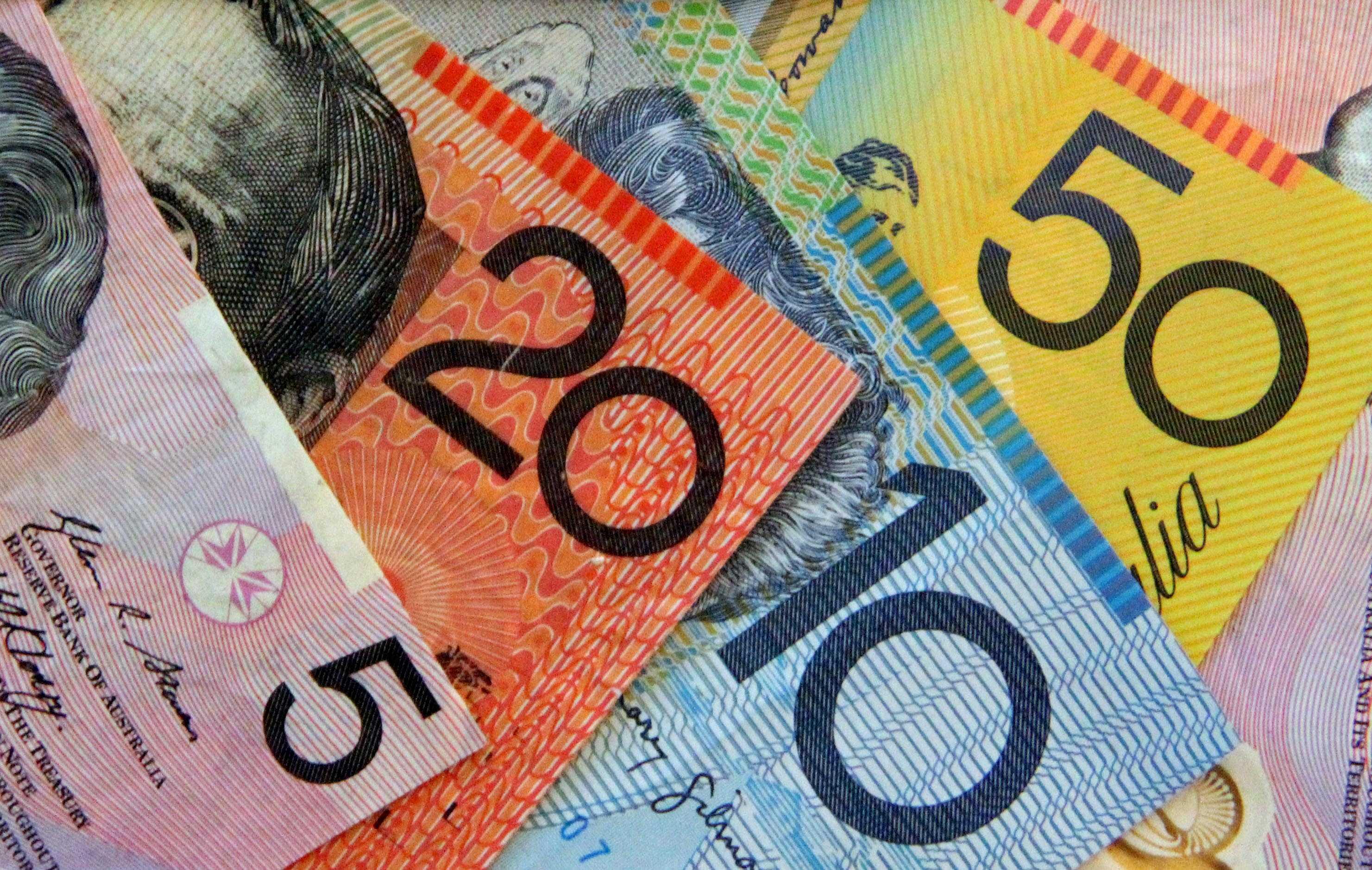 Aussie dollar photo