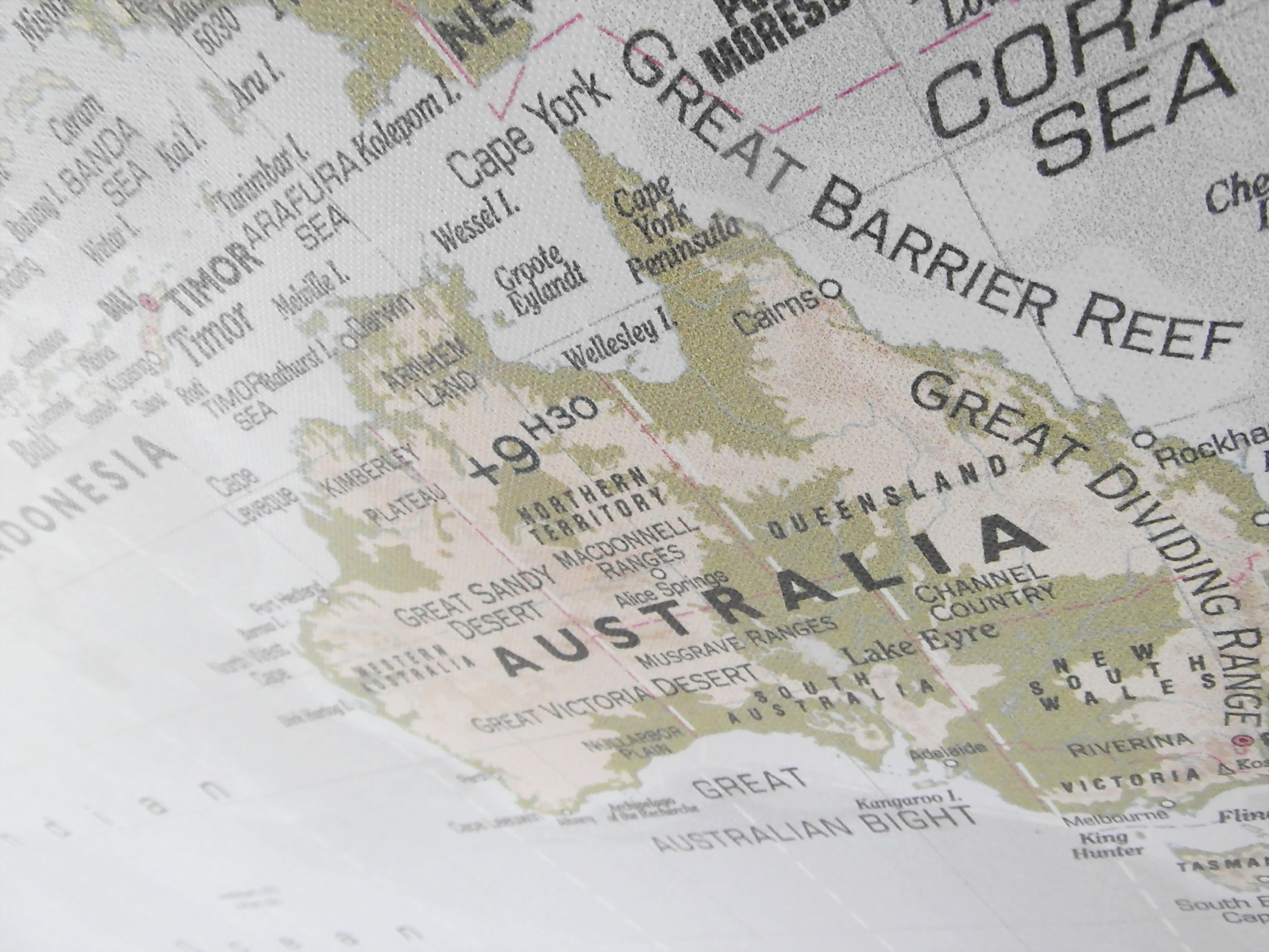 Australia Map, Atlas, Australia, Australian, Barrier, HQ Photo