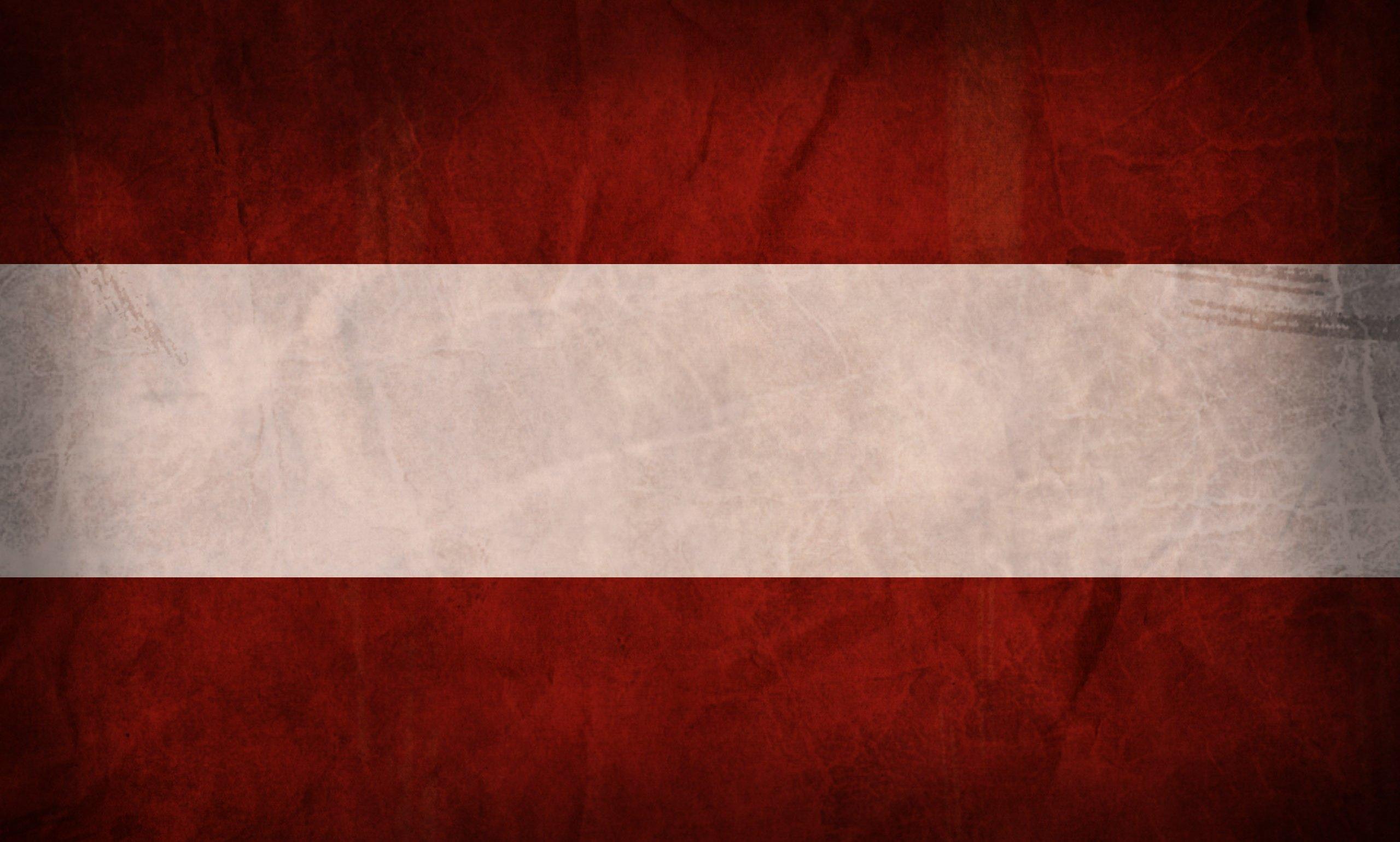 Austria grunge flag photo