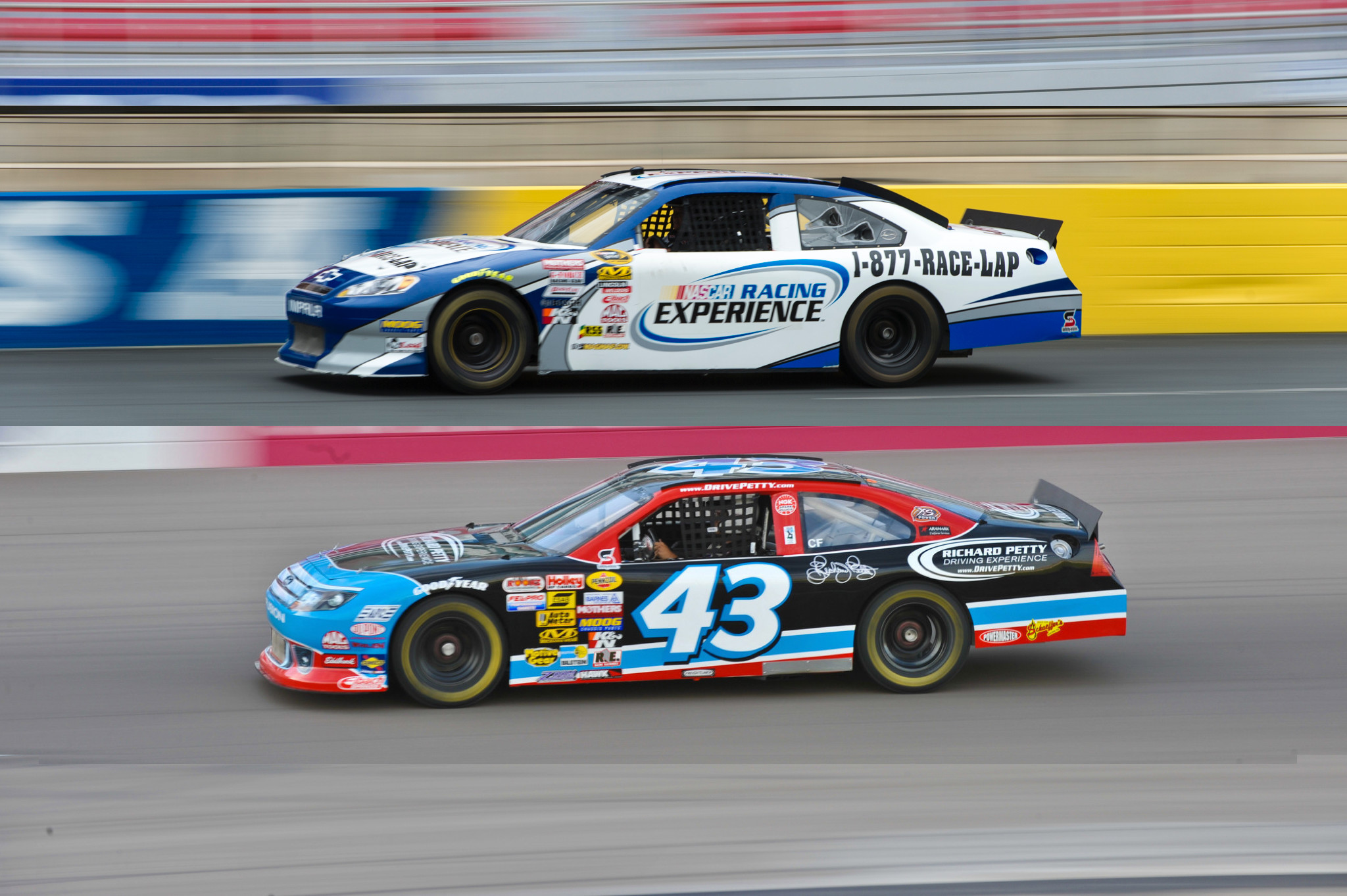 Richard Petty Driving Experience Las Vegas Motor Speedway 2 ...