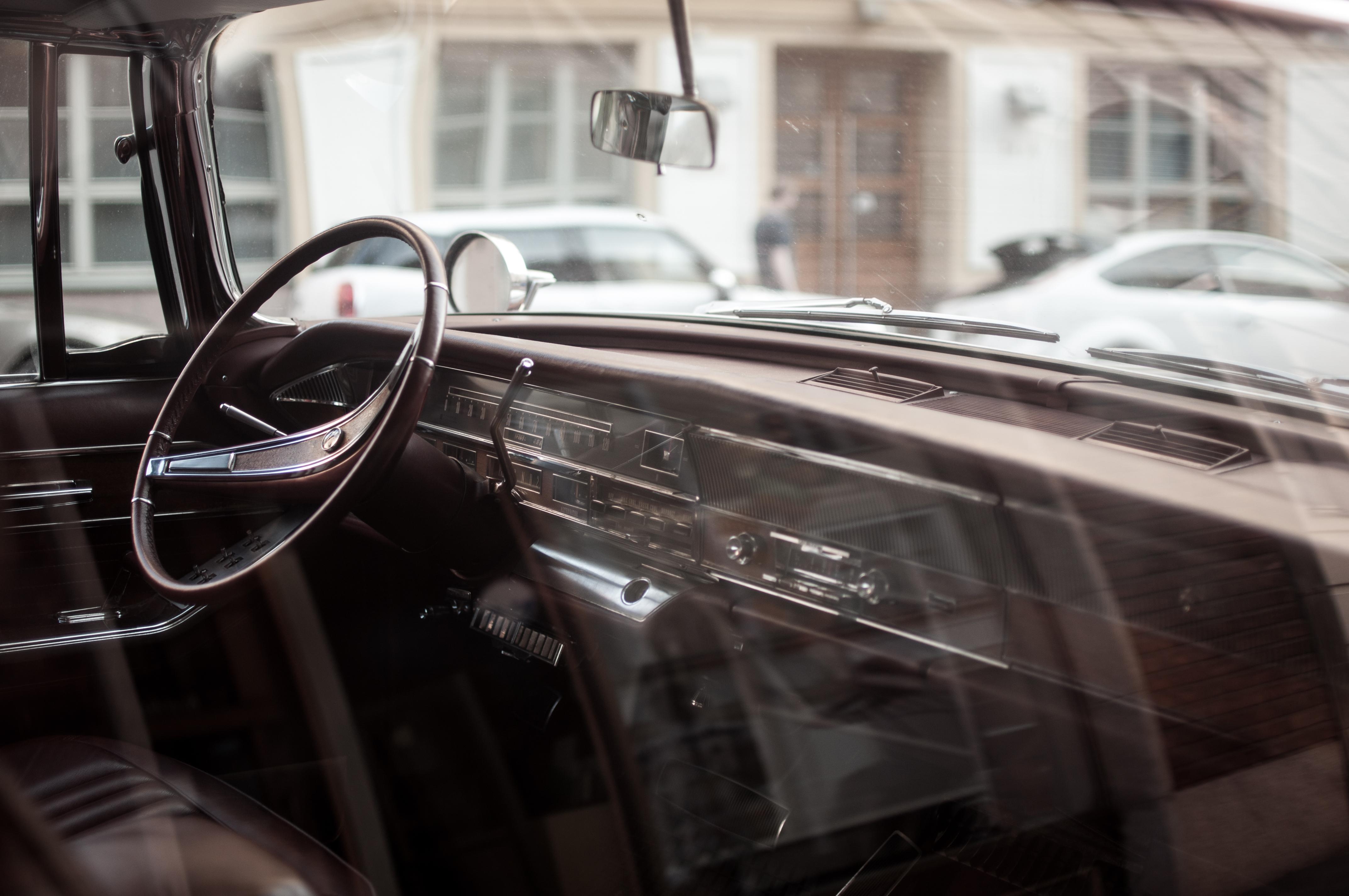 Automobile Dash and Steering Wheel, Automobile, Car, Dash, Glass, HQ Photo