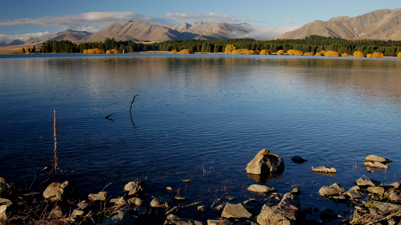 Autumn at lake tekapo nz (8) photo