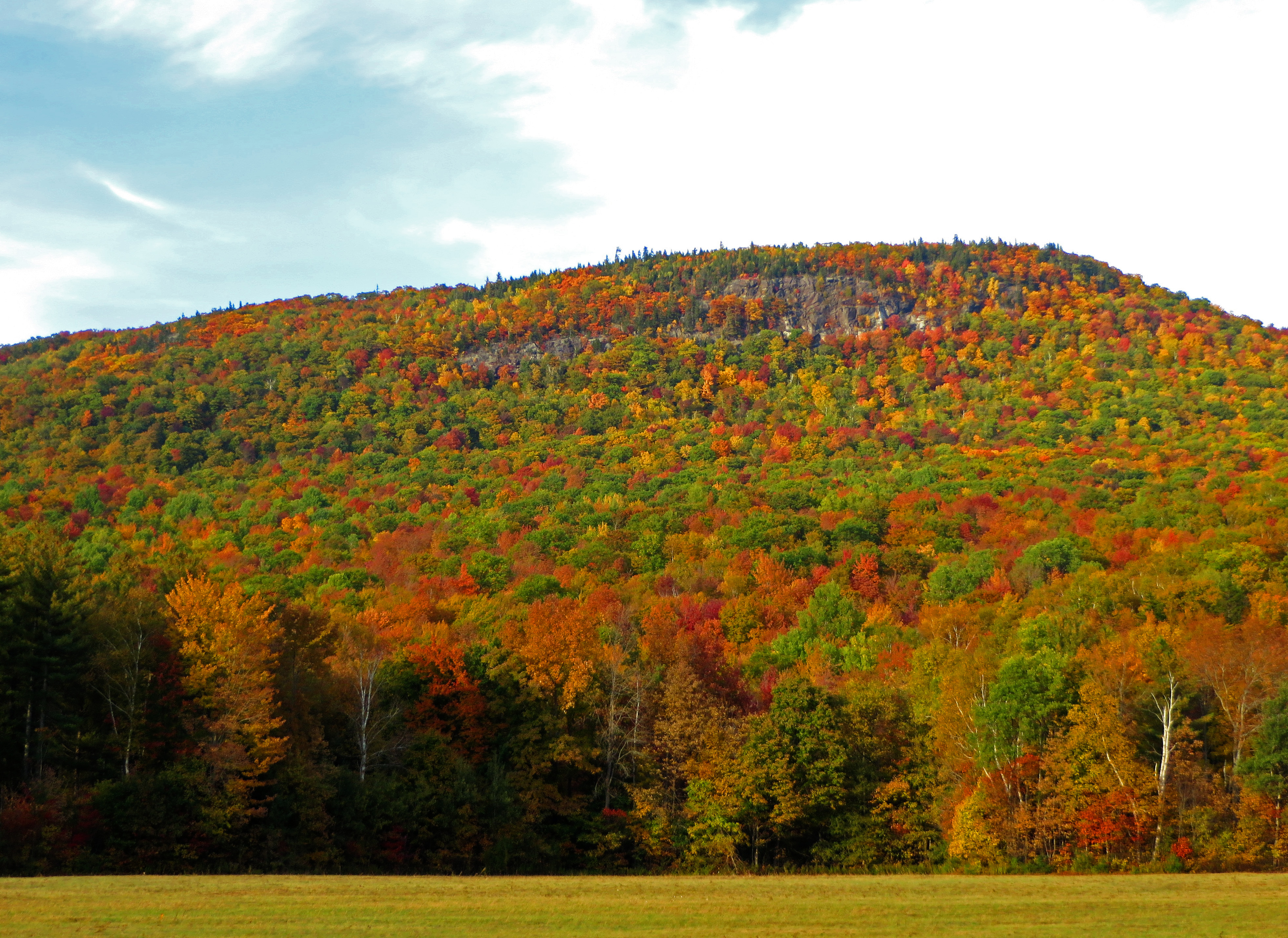 Autumn Color Assault, Notch, New, Mountains, Maine, HQ Photo