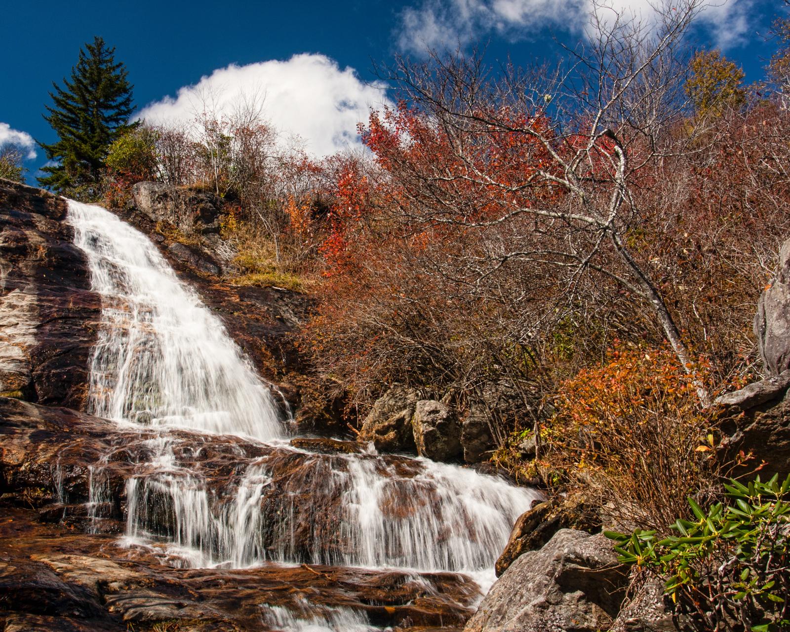 Crabtree Falls and Graveyard Falls | Matthew Paulson Photography