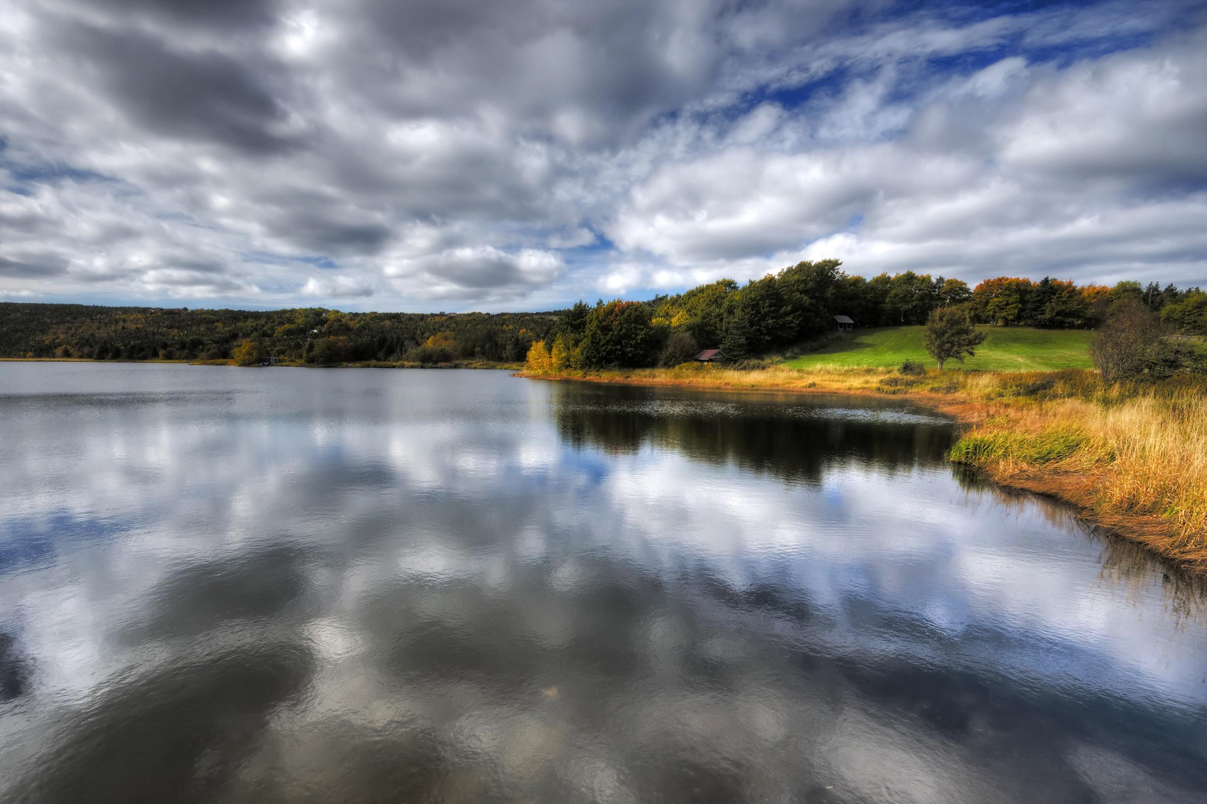 Autumn landscape photo