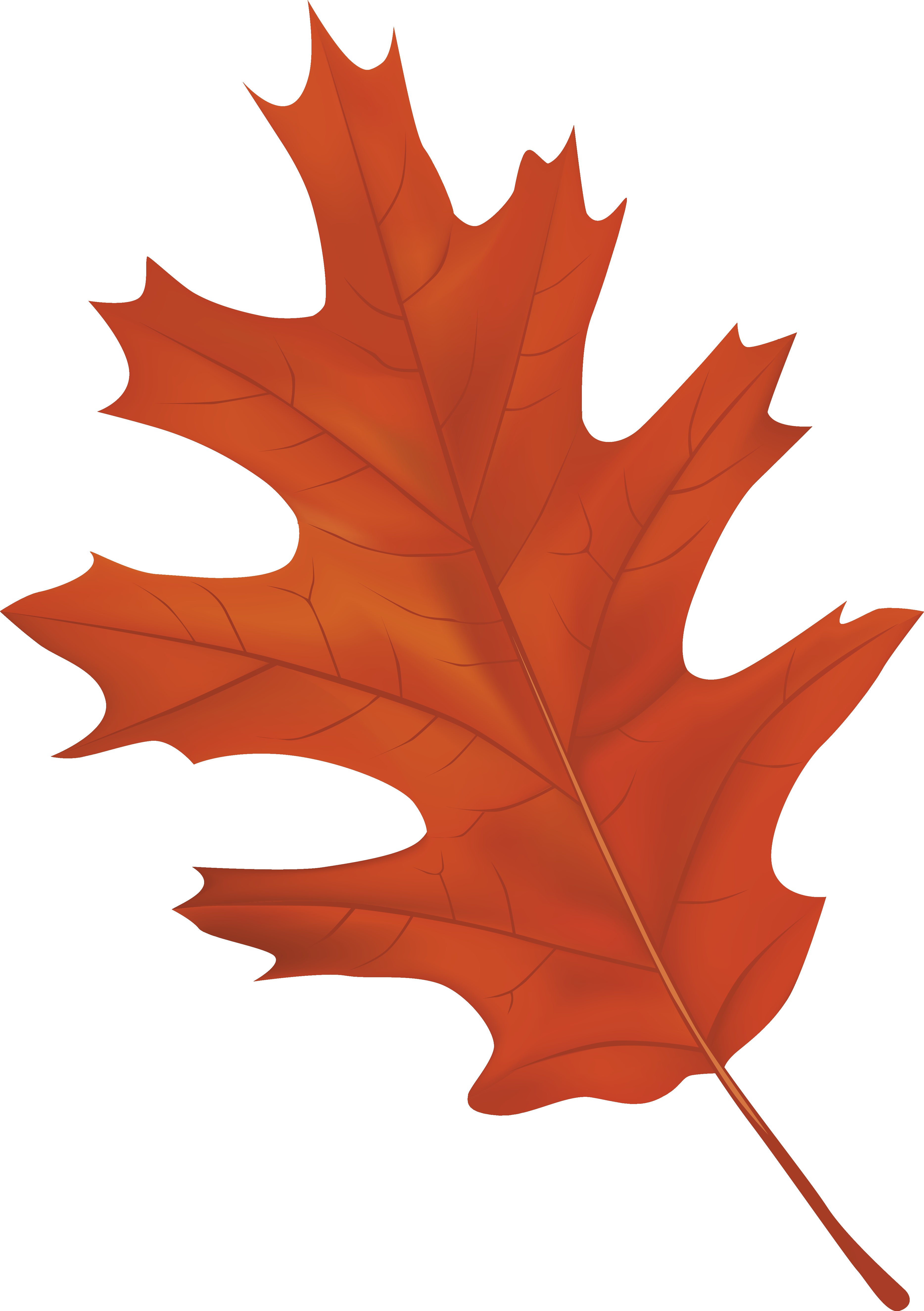 Brown Autumn Leaf PNG Clipart Image | Gallery Yopriceville - High ...