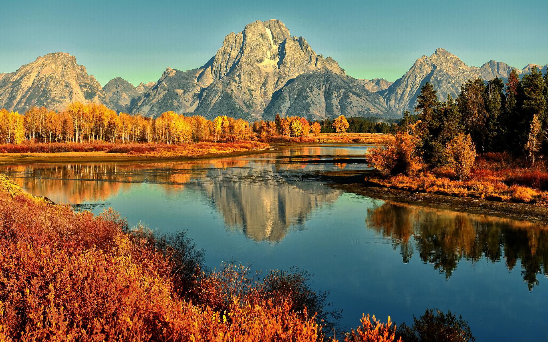 Autumn River Wallpaper 60491 1920x1200 px ~ HDWallSource.com