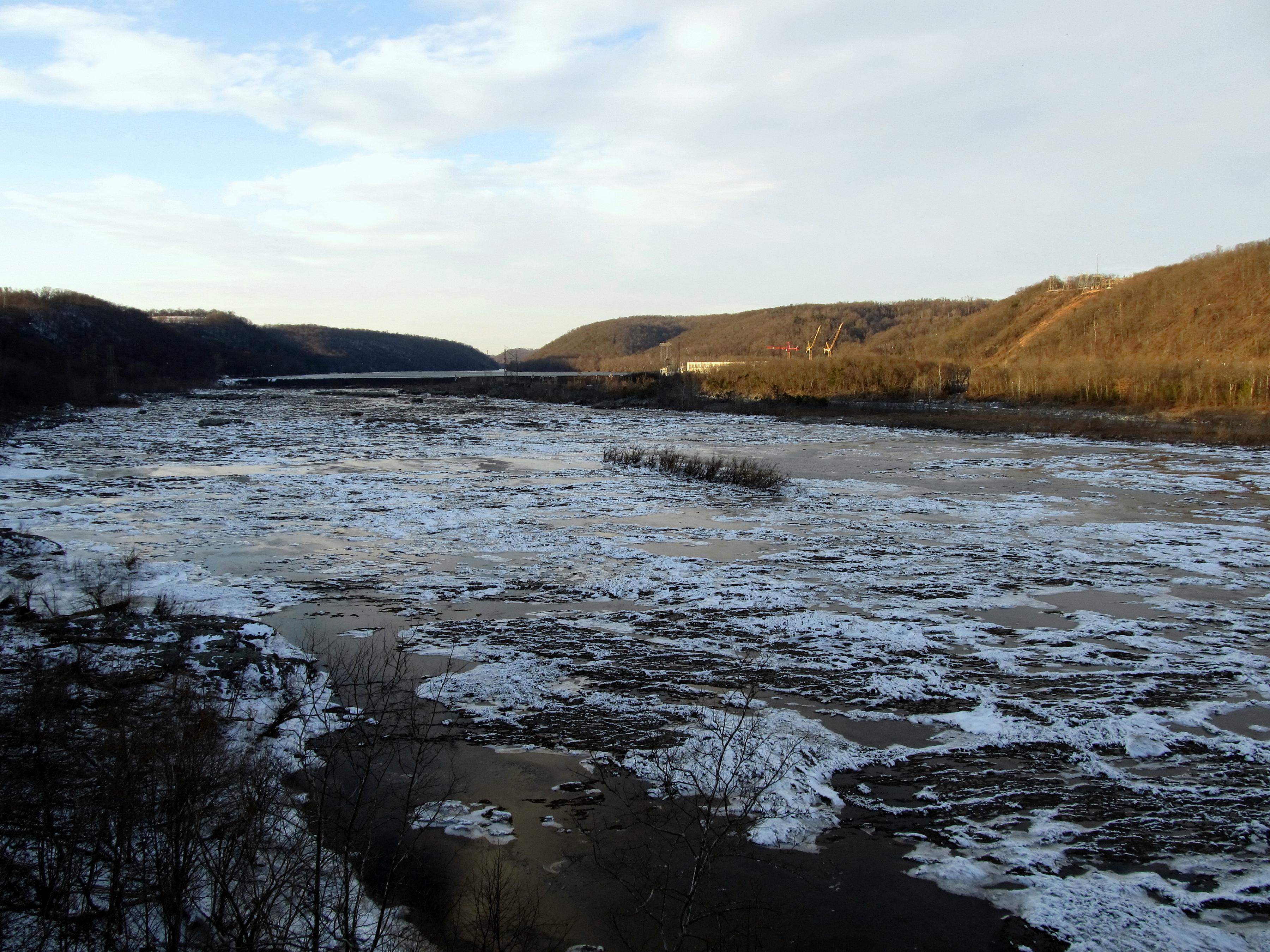 Autumn susquehanna river photo
