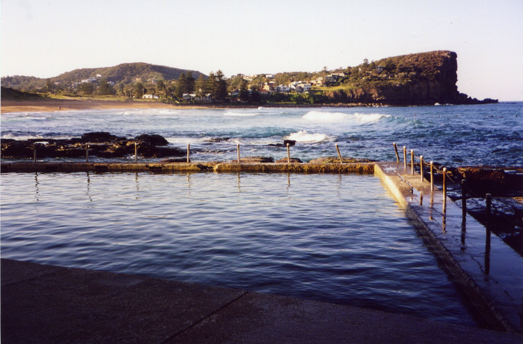 Avalon Rock Pool, Avalon Beach, NSW, Australia