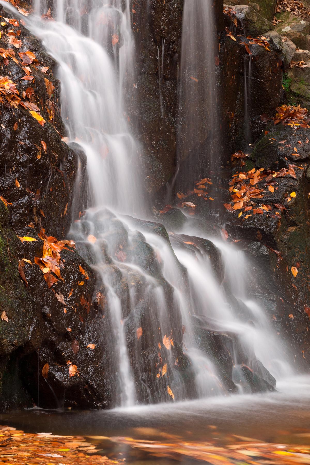 Avalon Falls, Quiet, Red, Pretty, Picturesque, HQ Photo